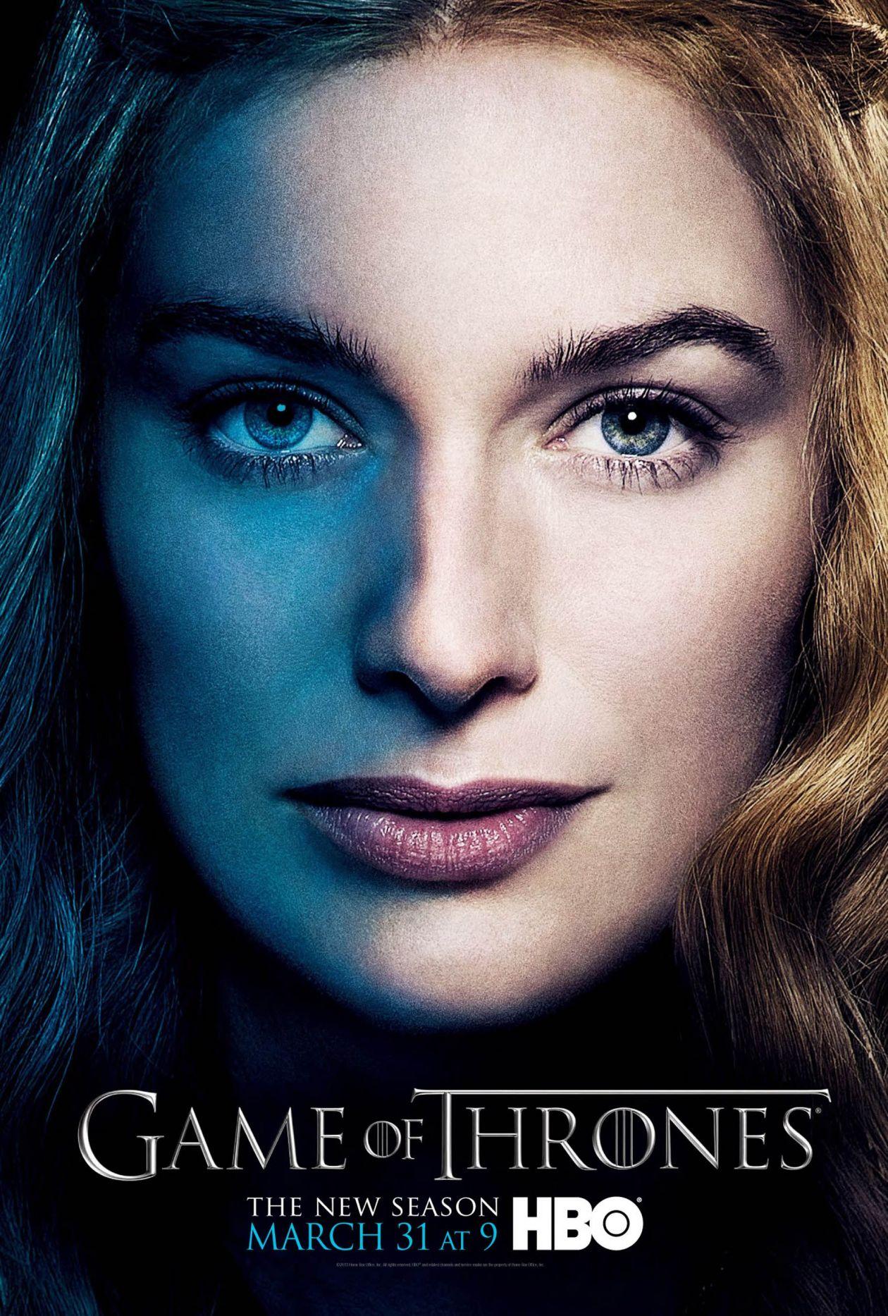 Lena Headey actress / Game of Thrones / Queen of the Seven Kingdoms / Cersei Lannister SEASON 3 2013