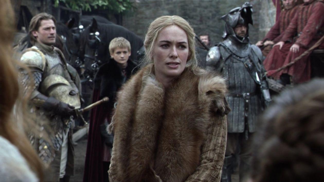 Lena Headey actress / Game of Thrones / Queen Cersei Lannister SEASON 1 EPISODE 1 / 2011
