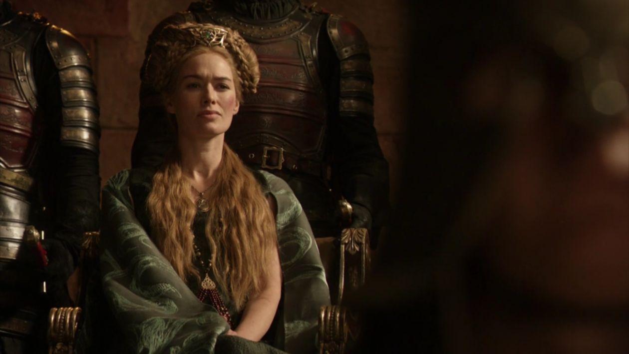 Lena Headey actress / Game of Thrones / Queen of the Seven Kingdoms / Cersei Lannister SEASON 1 EPISODE 7 / 2011