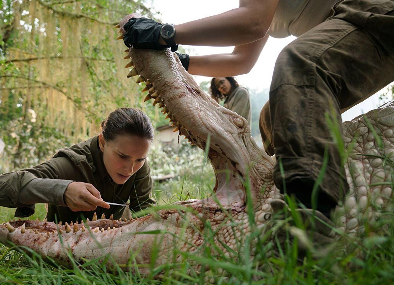 Annihilation / Natalie Portman, Tessa Thompson / Photo by Peter Mountain © 2017 Paramount Pictures
