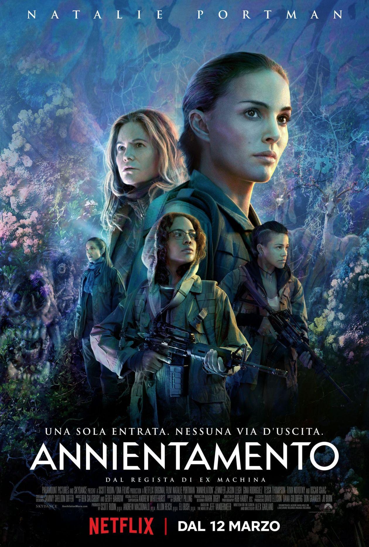 NETFLIX / Natalie Portman / Annihilation / Alex Garland 2018 / Movie Poster / Affiche film
