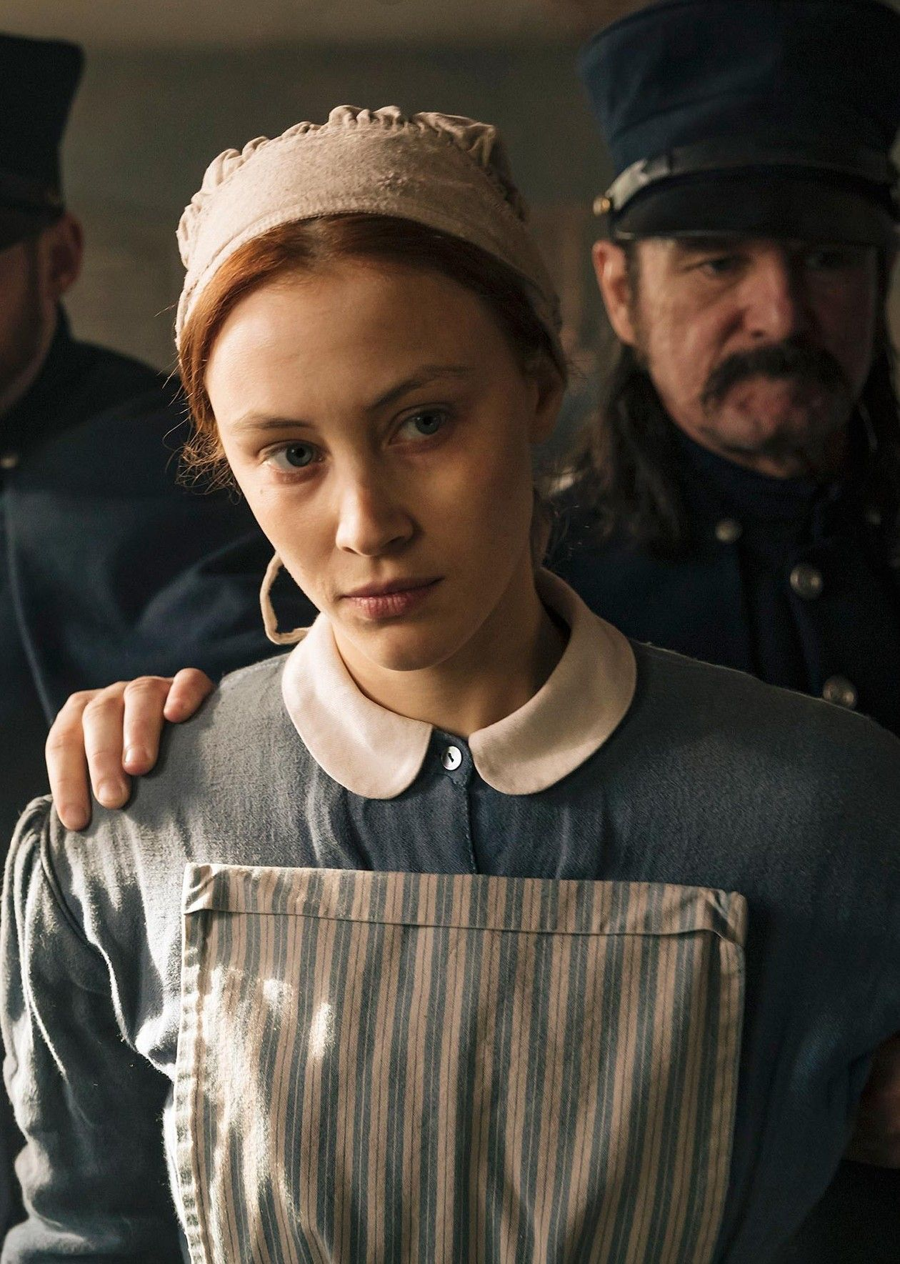 Sarah Gadon is mesmerizing. Alias Grace is about how men abuse power over women, and how that power is always present, even when the men aren't | The New York Times