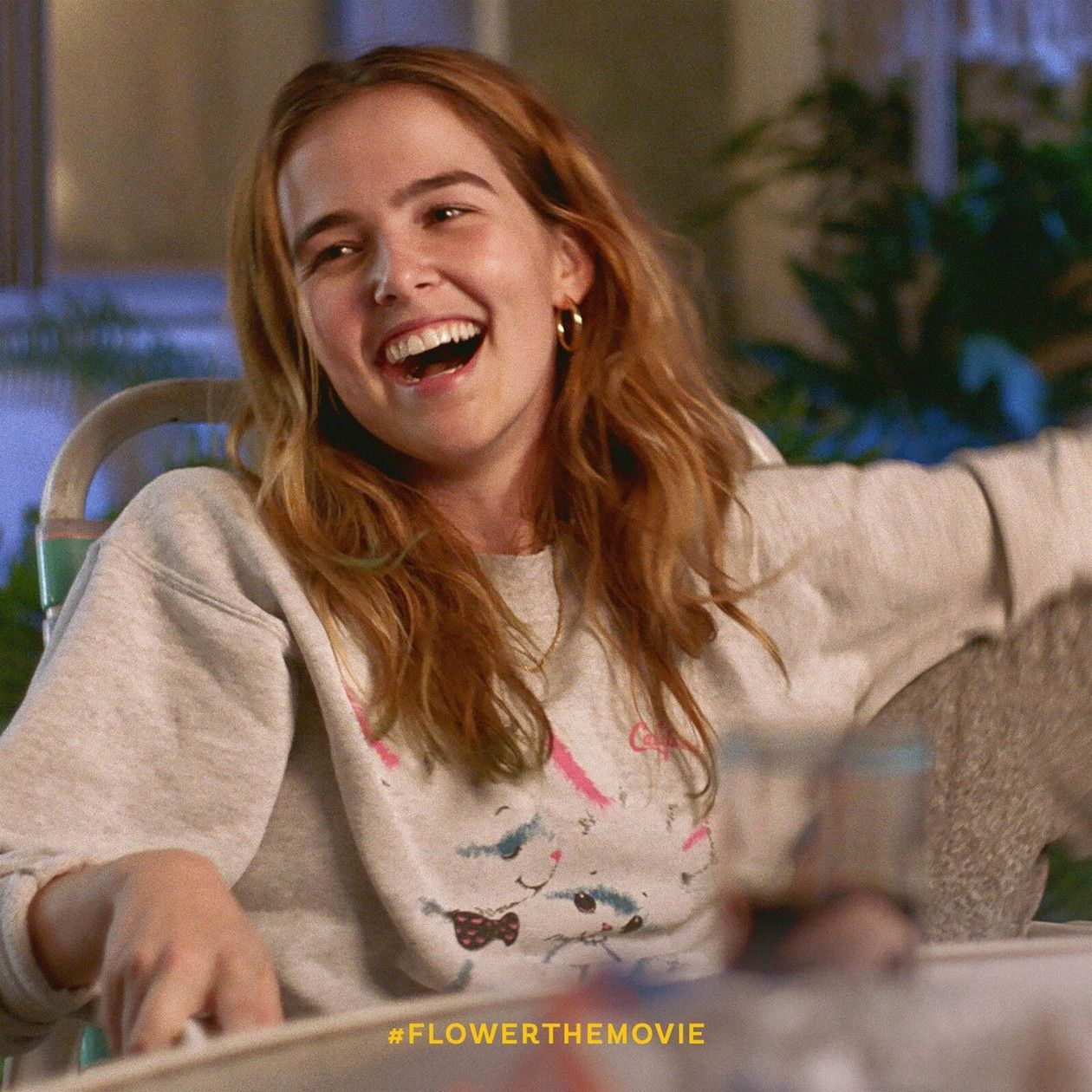 Zoey Deutch actress | Flower / Erica Vandross / Max Winkler 2017 Teaser Movie Poster Affichette film