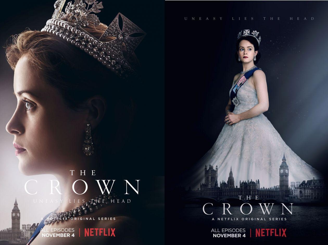 Claire Foy | The Crown : Queen Elizabeth II | NETFLIX 2016 / SERIE POSTER