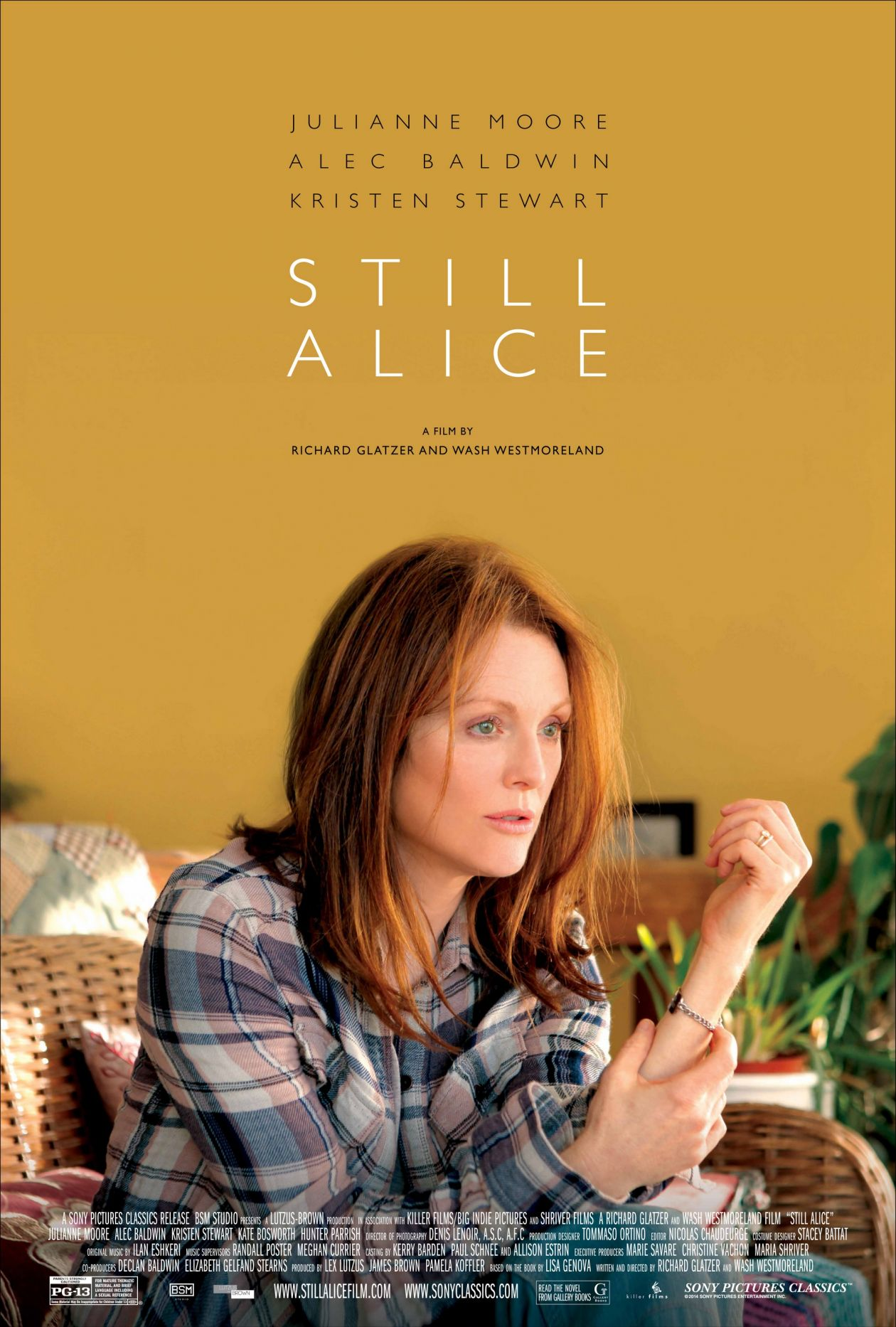 Academy Award / Oscar 2015 / Best Actress: Julianne Moore - Still Alice / Richard Glatzer, Wash Westmoreland