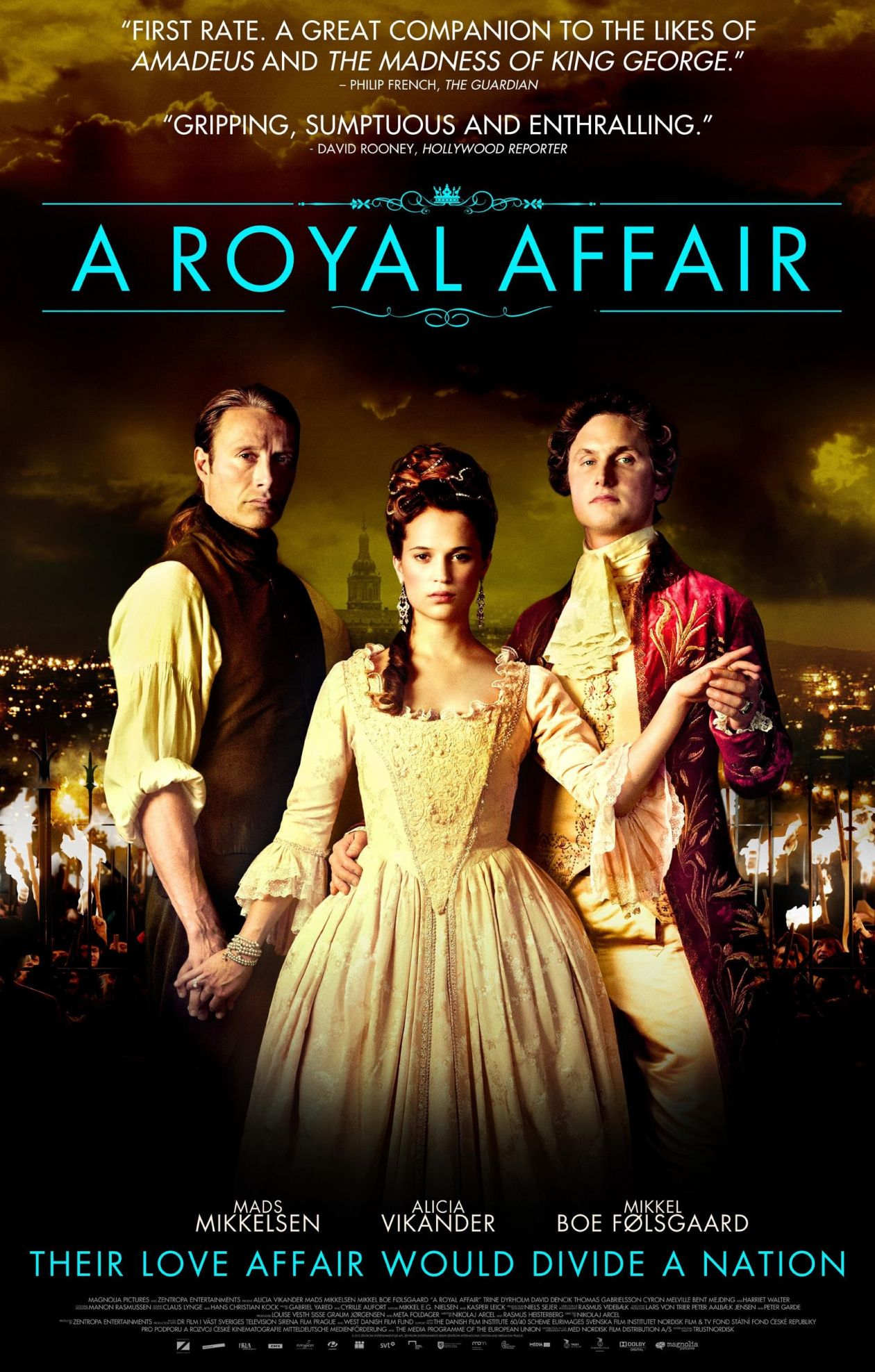 Alicia Vikander actress / A Royal Affair / Nikolaj Arcel 2012 Movie Poster Affiche film