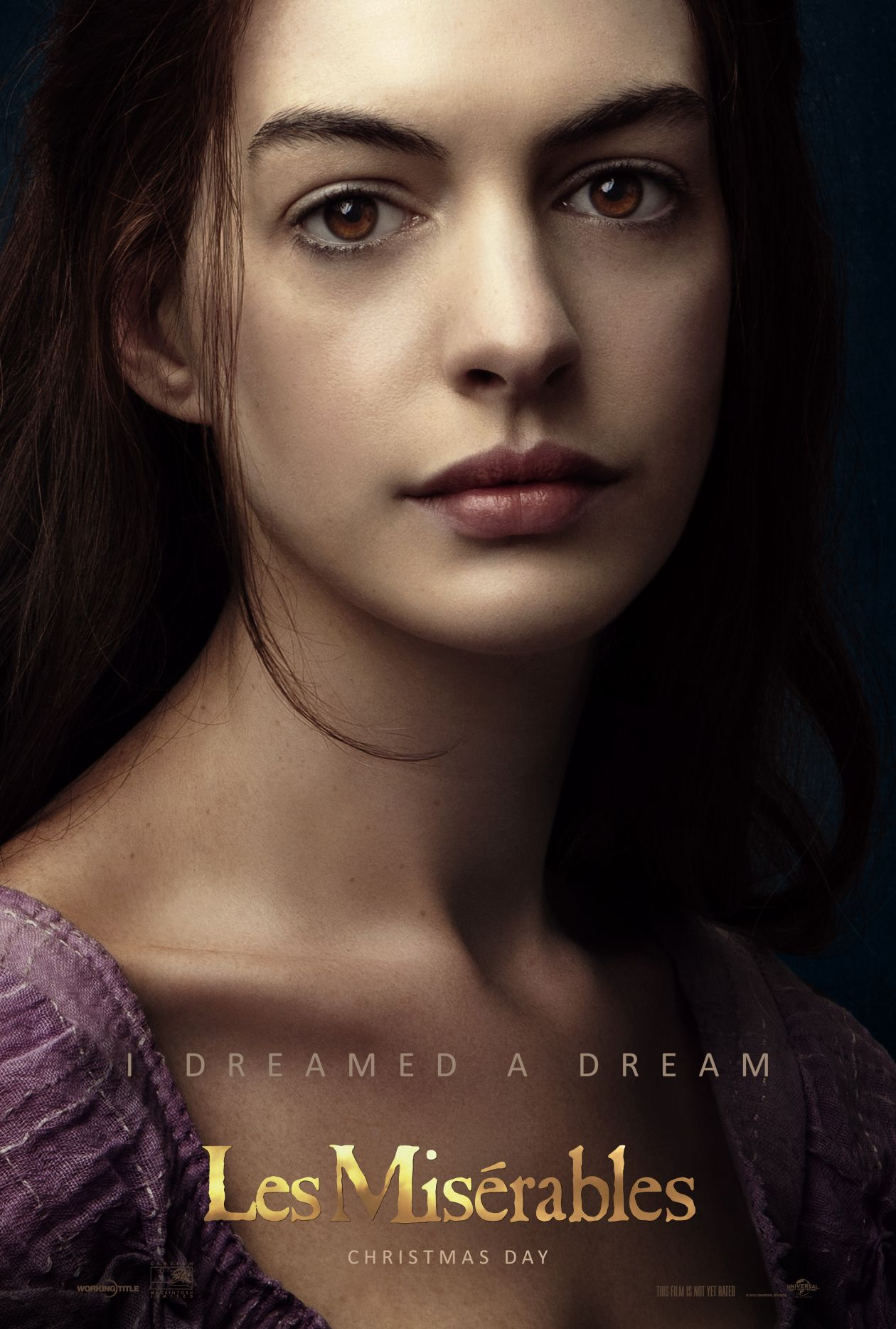 Anne Hathaway actress | Les Misérables : Fantine | Tom Hooper 2012