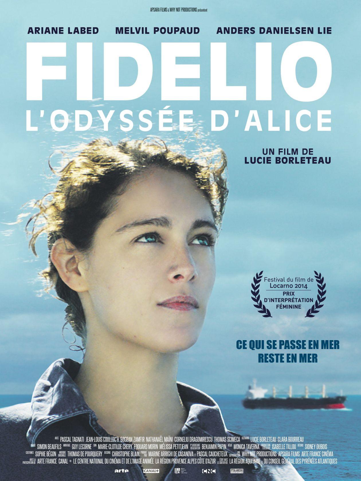 Ariane Labed  FIDELIO, L'ODYSSEE D'ALICE | Lucie Borleteau 2014