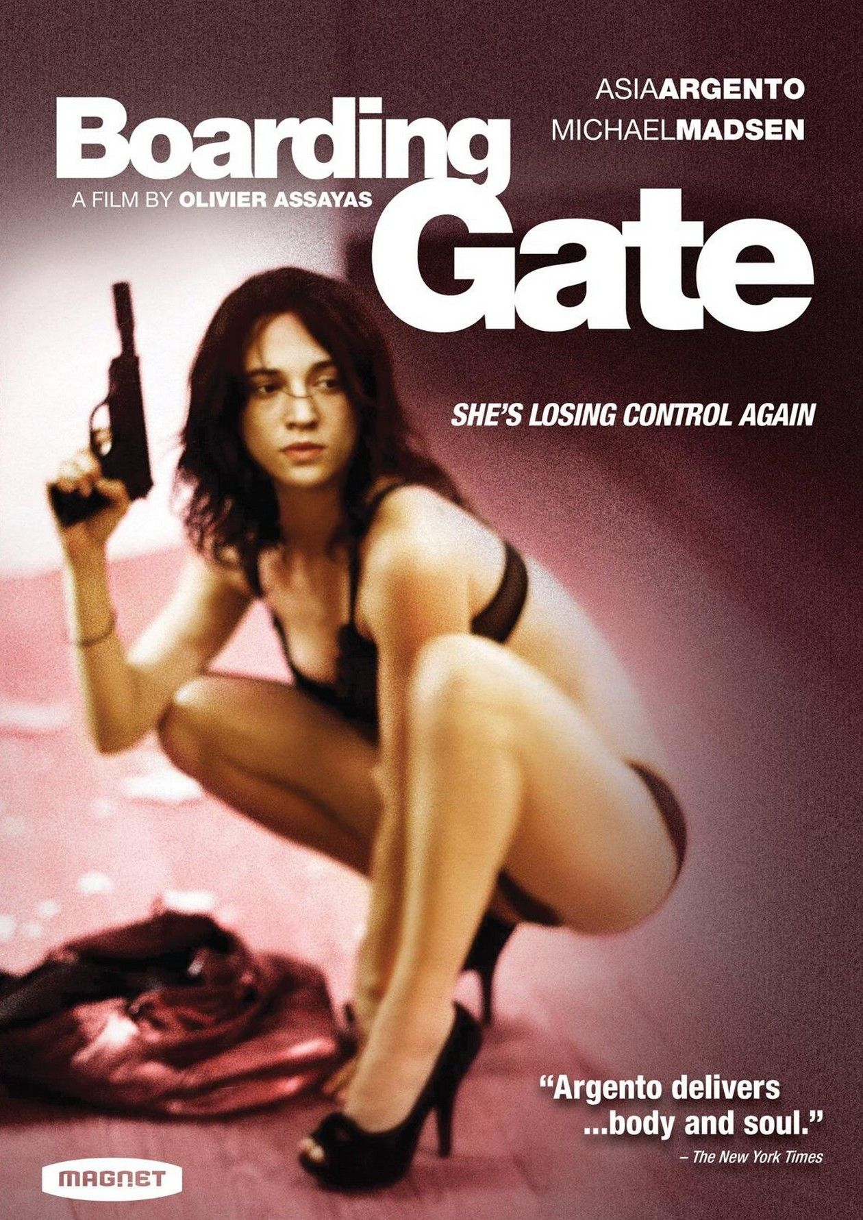 Asia Argento actress / Boarding Gate / Olivier Assayas 2007 Movie Poster Affiche film