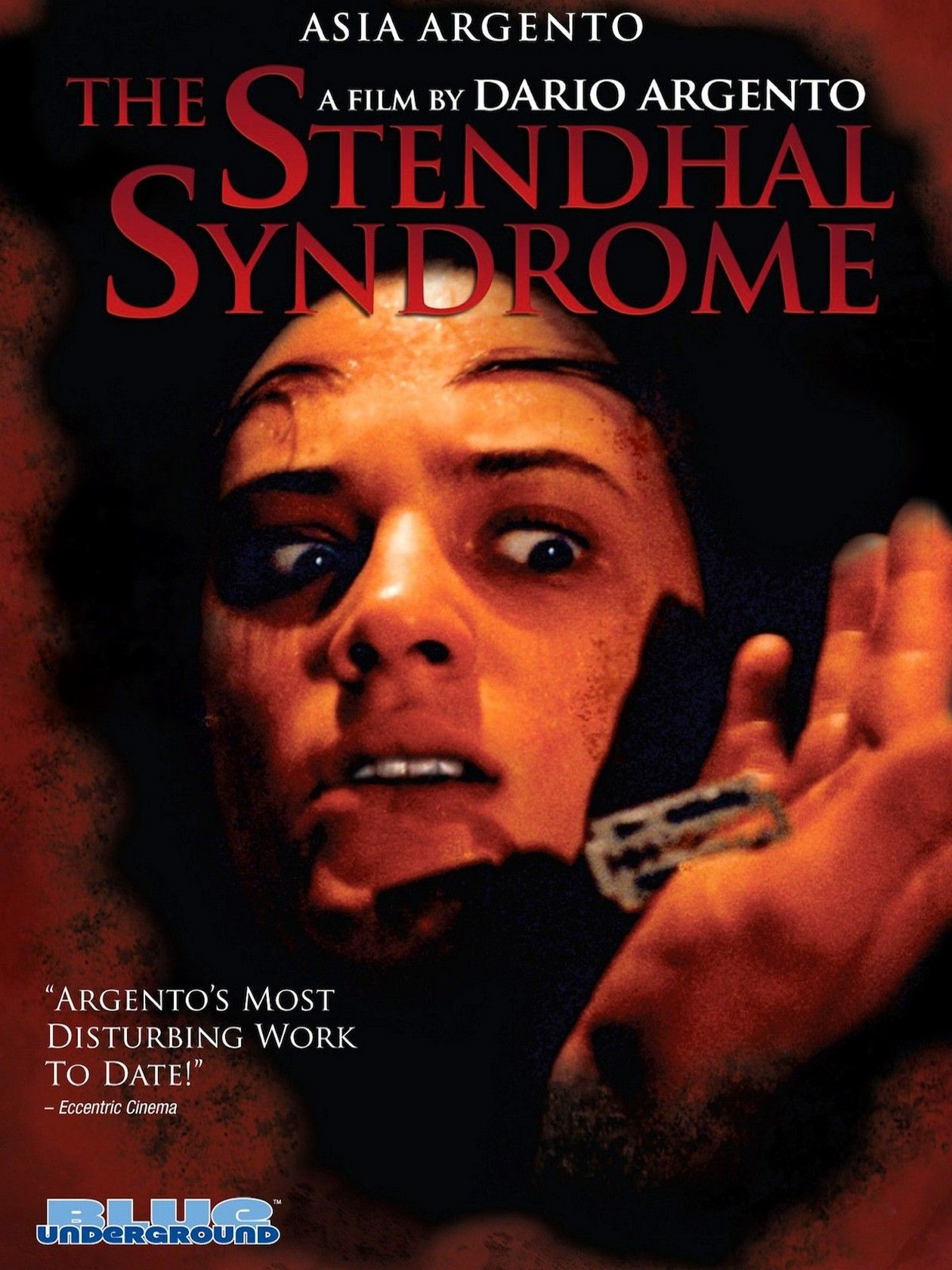 Asia Argento actress | La Sindrome di Stendhal / The Stendhal Syndrome / Le Syndrome de Stendhal / DARIO ARGENTO 1996 Movie Poster Affiche film