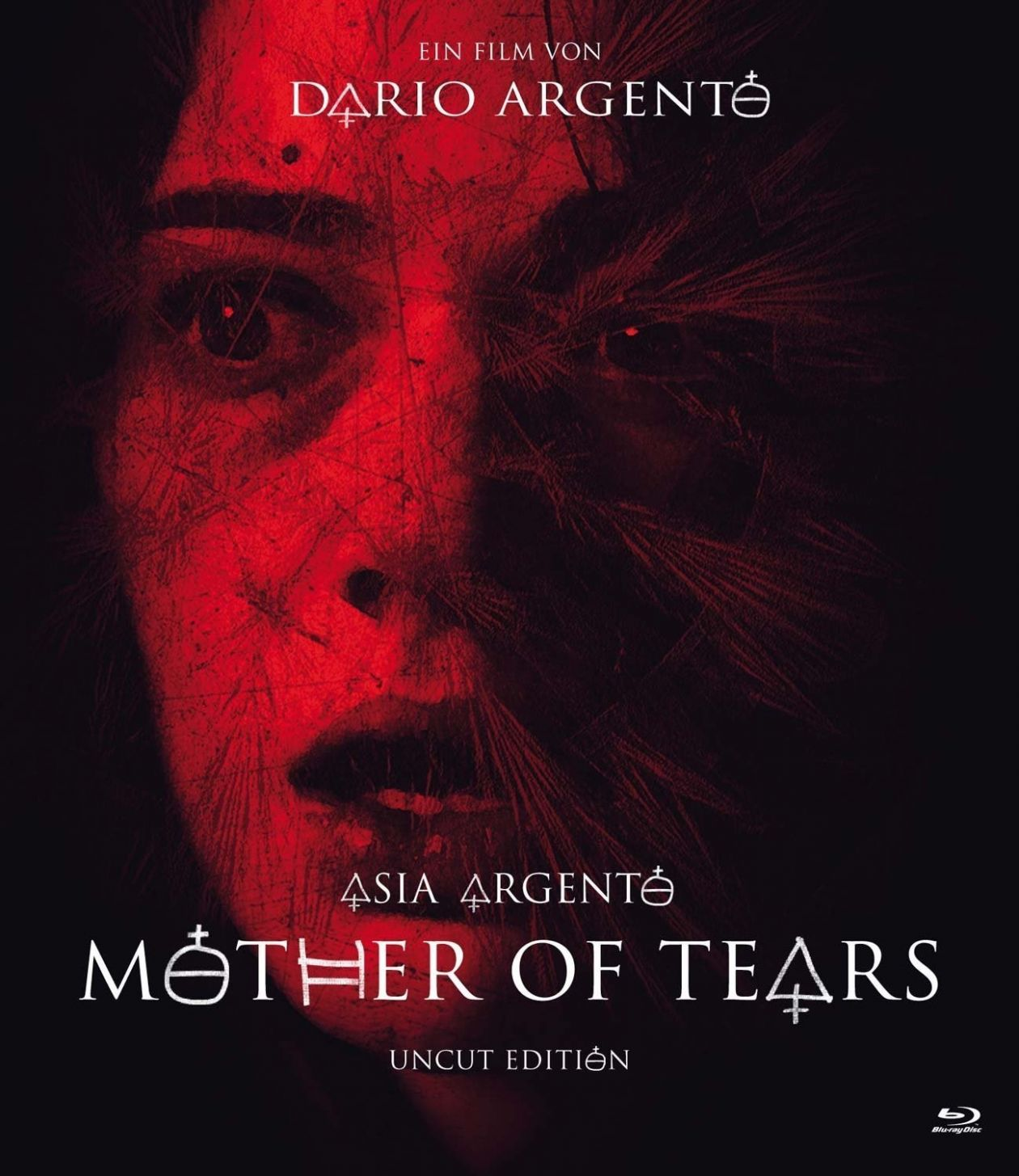 Asia Argento actress | Mother of Tears / Dario Argento 2007 DVD Cover Movie Poster Affiche film