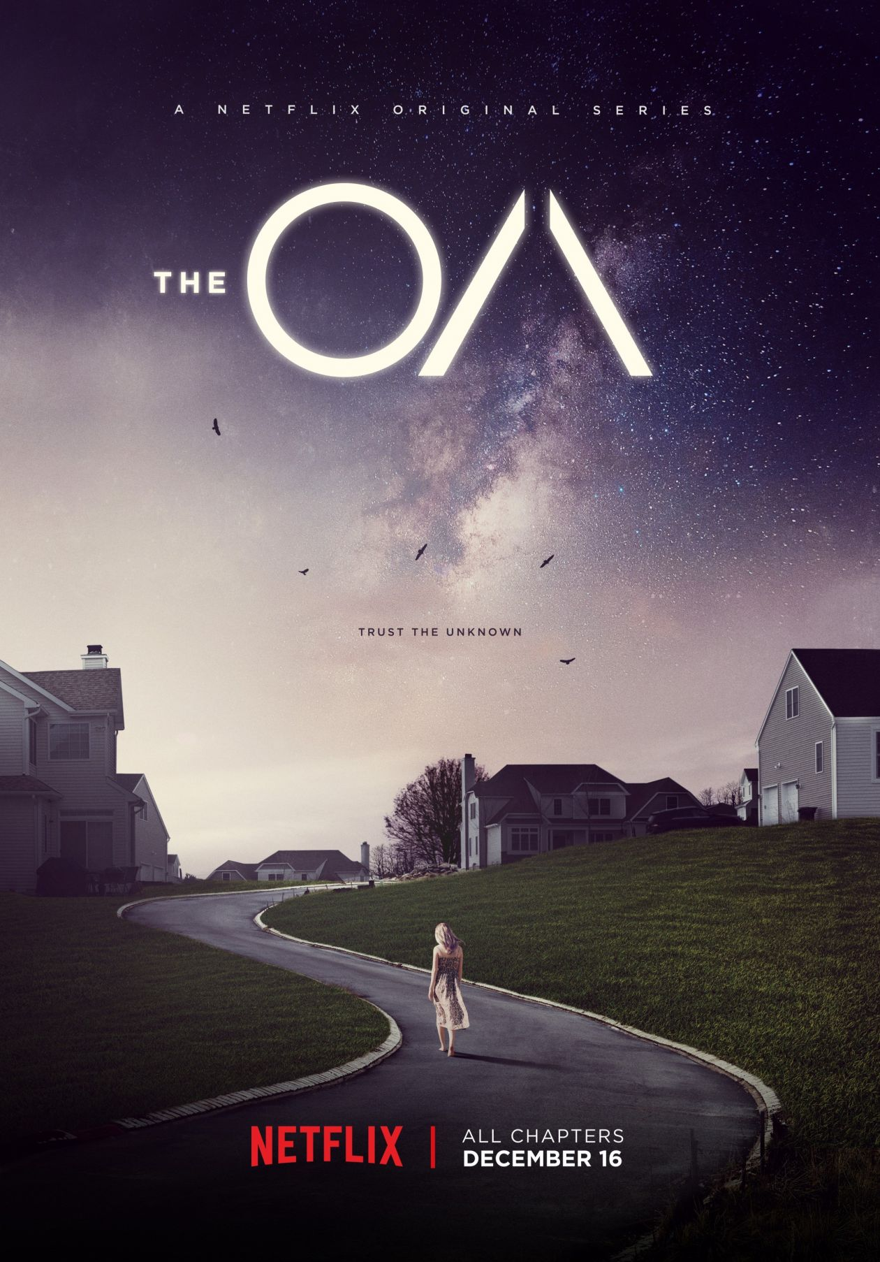 Brit Marling actress | The OA / Brit Marling, Zal Batmanglij / netflix 2016 SERIE POSTER