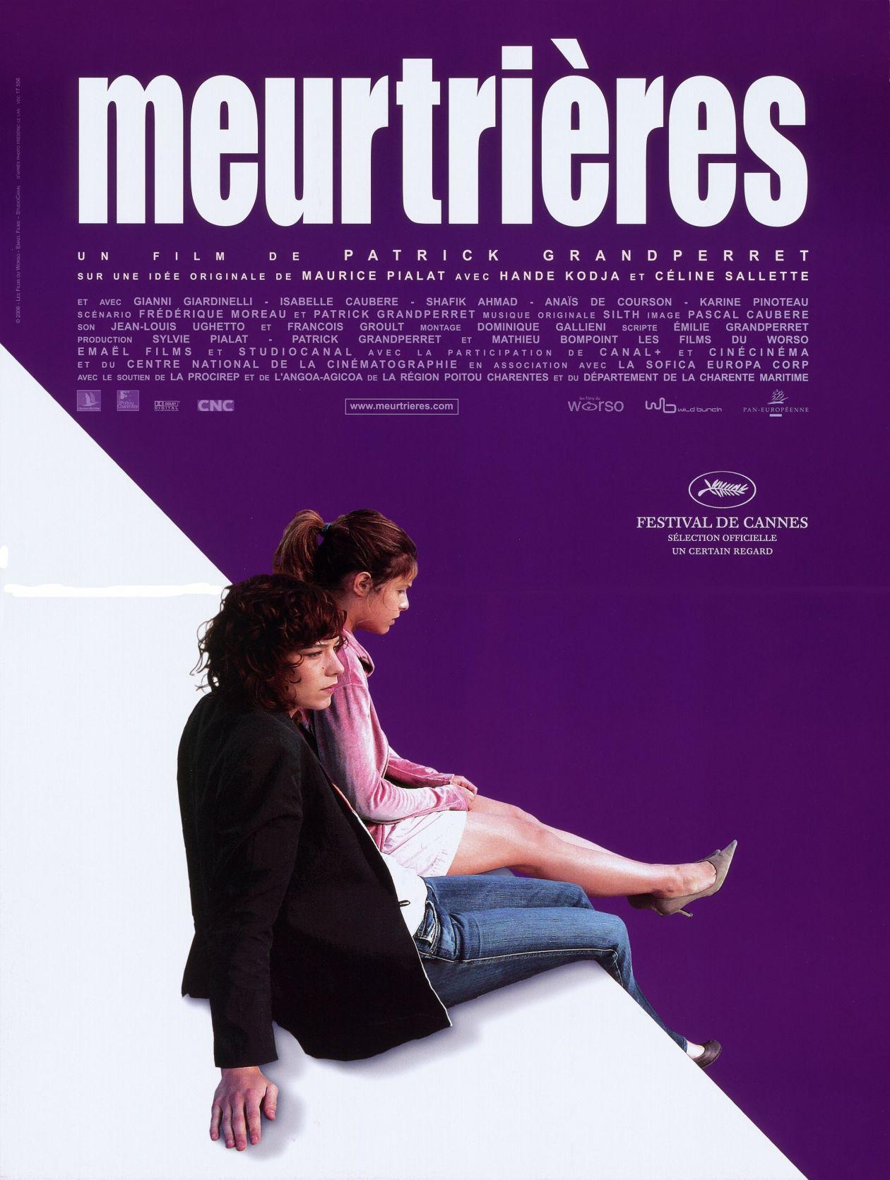 Céline Sallette / Hande Kodja actresses actrices comédiennes | Meurtrières / Movie Poster / Affiche film / Patrick Grandperret 2006