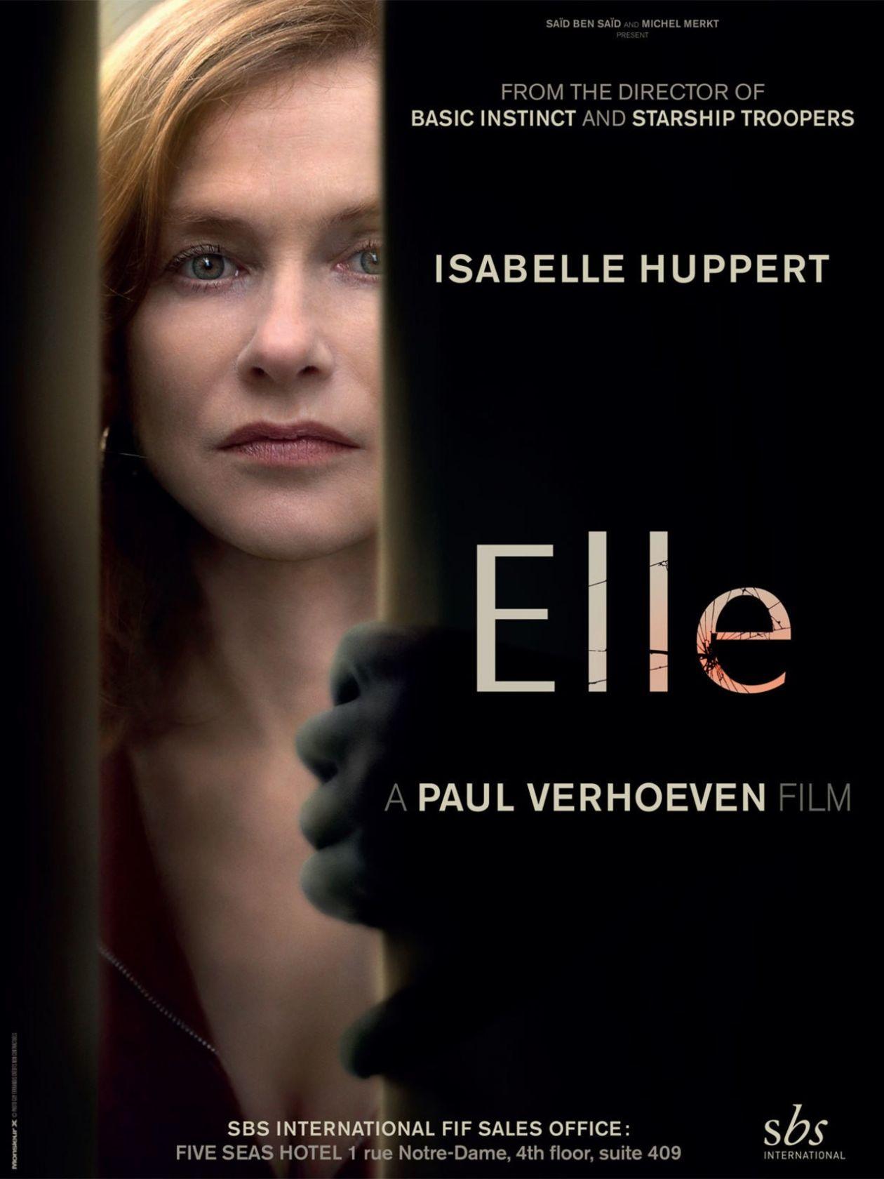 César 2017 / Meilleure Actrice: Isabelle Huppert / Elle / Paul Verhoeven
