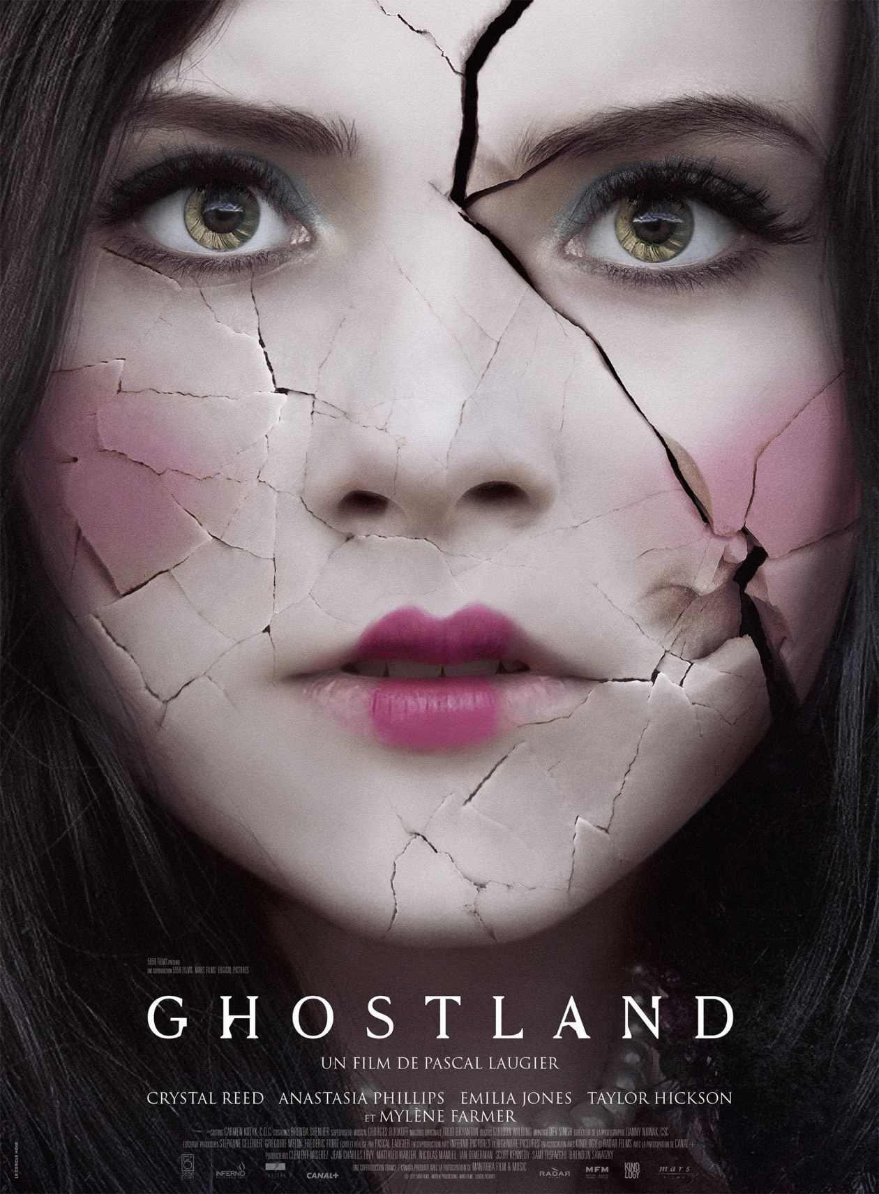 Crystal Reed actress / Elizabeth Keller / Ghostland / Pascal Laugier 2018 Movie Poster Affiche film