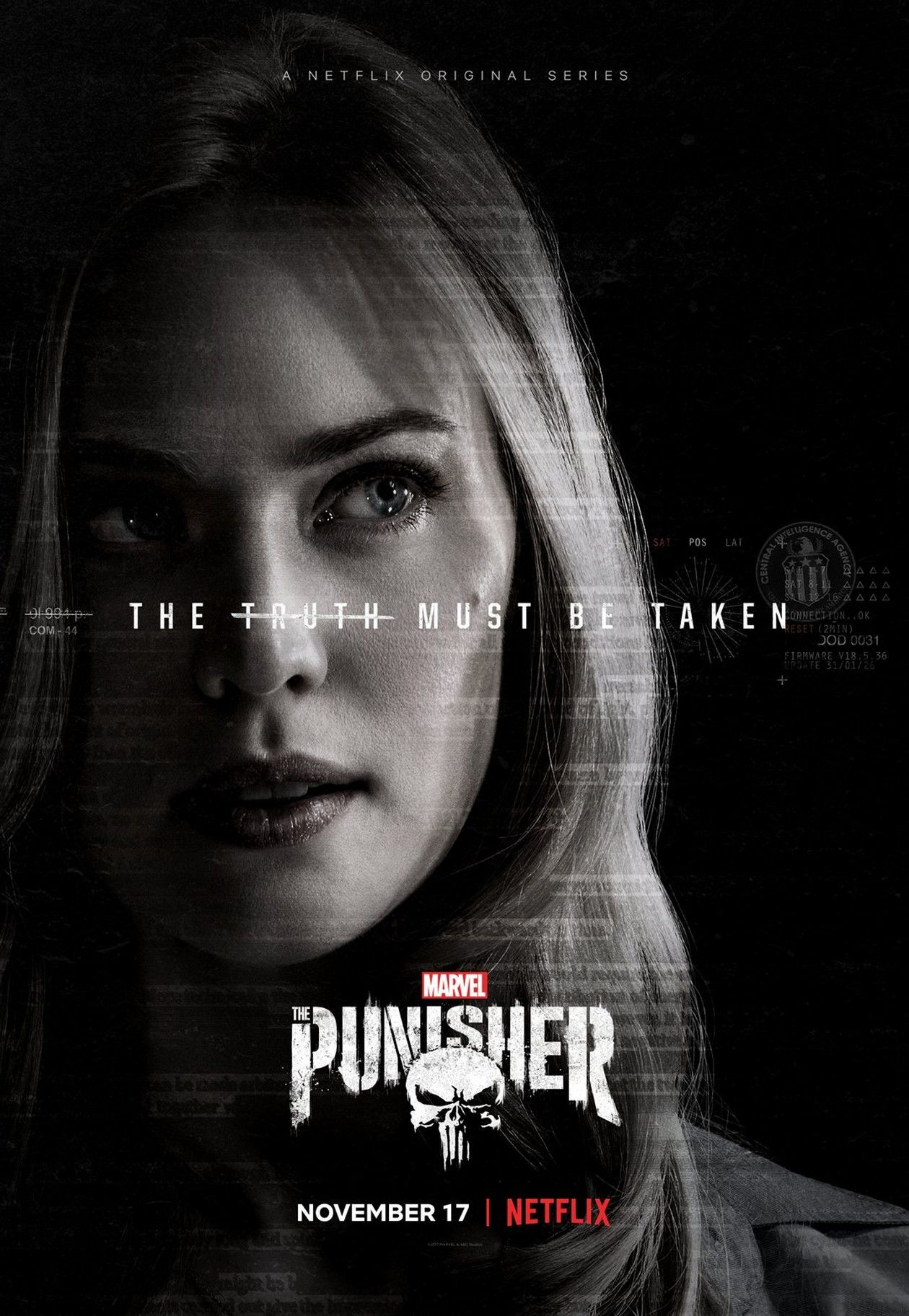 Deborah Ann Woll  The Punisher : Karen Page / Marvel NETFLIX Original Serie 2017