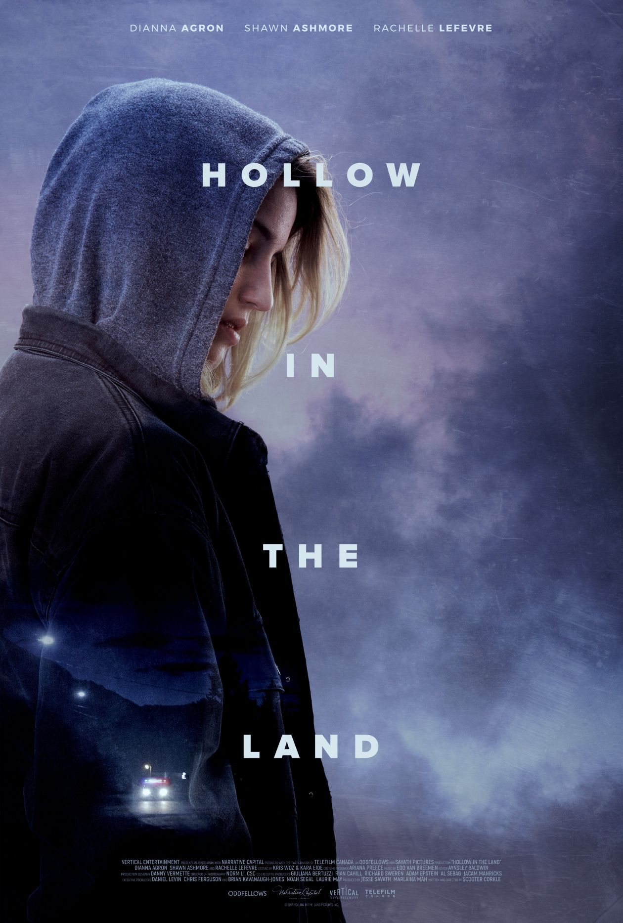 Dianna Agron | Hollow in the Land | Scooter Corkle 2017 / Movie poster / Affiche du film