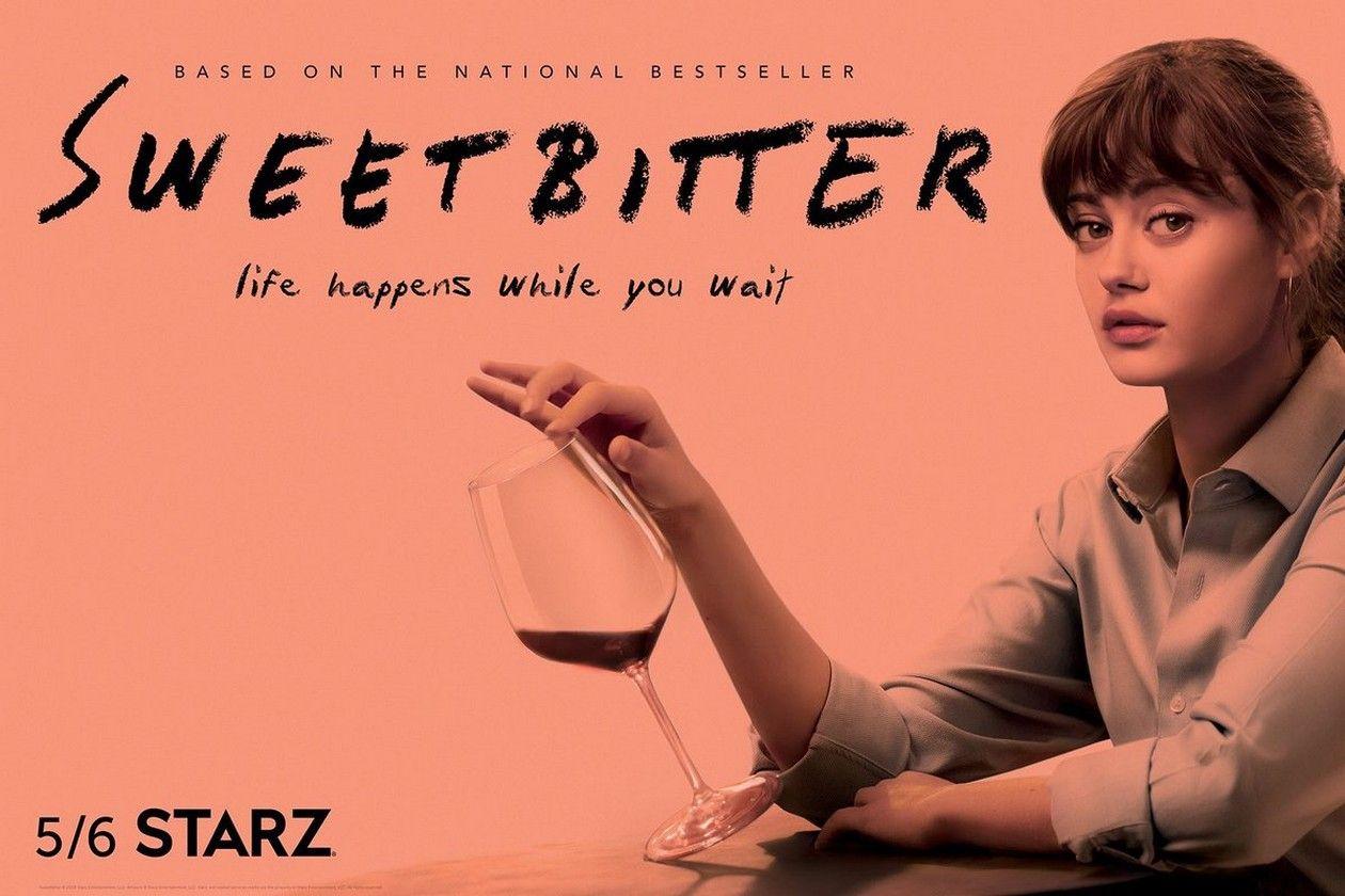 Ella Purnell actress / Tess / Sweetbitter / STARZ SERIES 2018 / SERIES TEASER POSTER