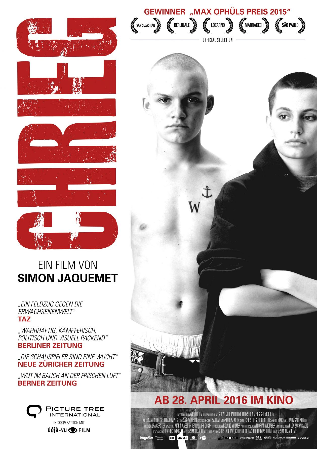 Ella Rumpf actress | Chrieg / War / Simon Jaquemet 2014 Movie Poster / Affiche film