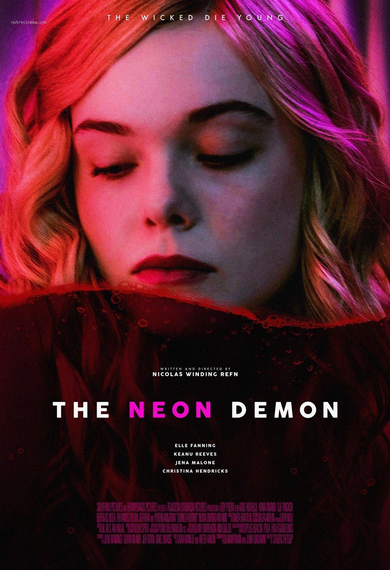 Elle Fanning | The Neon Demon | Nicolas Winding Refn / 2016 Movie Poster / Affiche du film