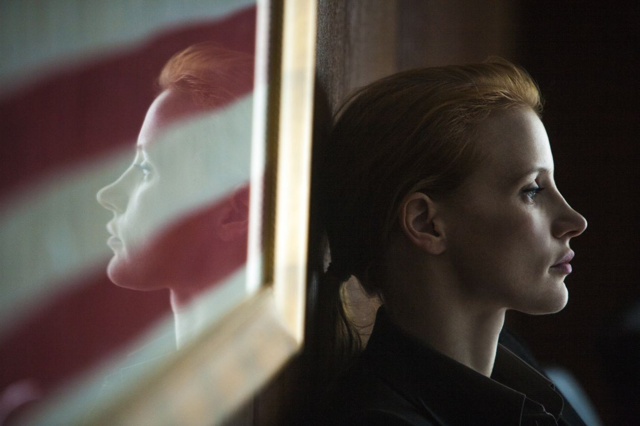 Jessica Chastain actress / Maya, a CIA intelligence analyst  Zero Dark Thirty | Kathryn Bigelow 2012