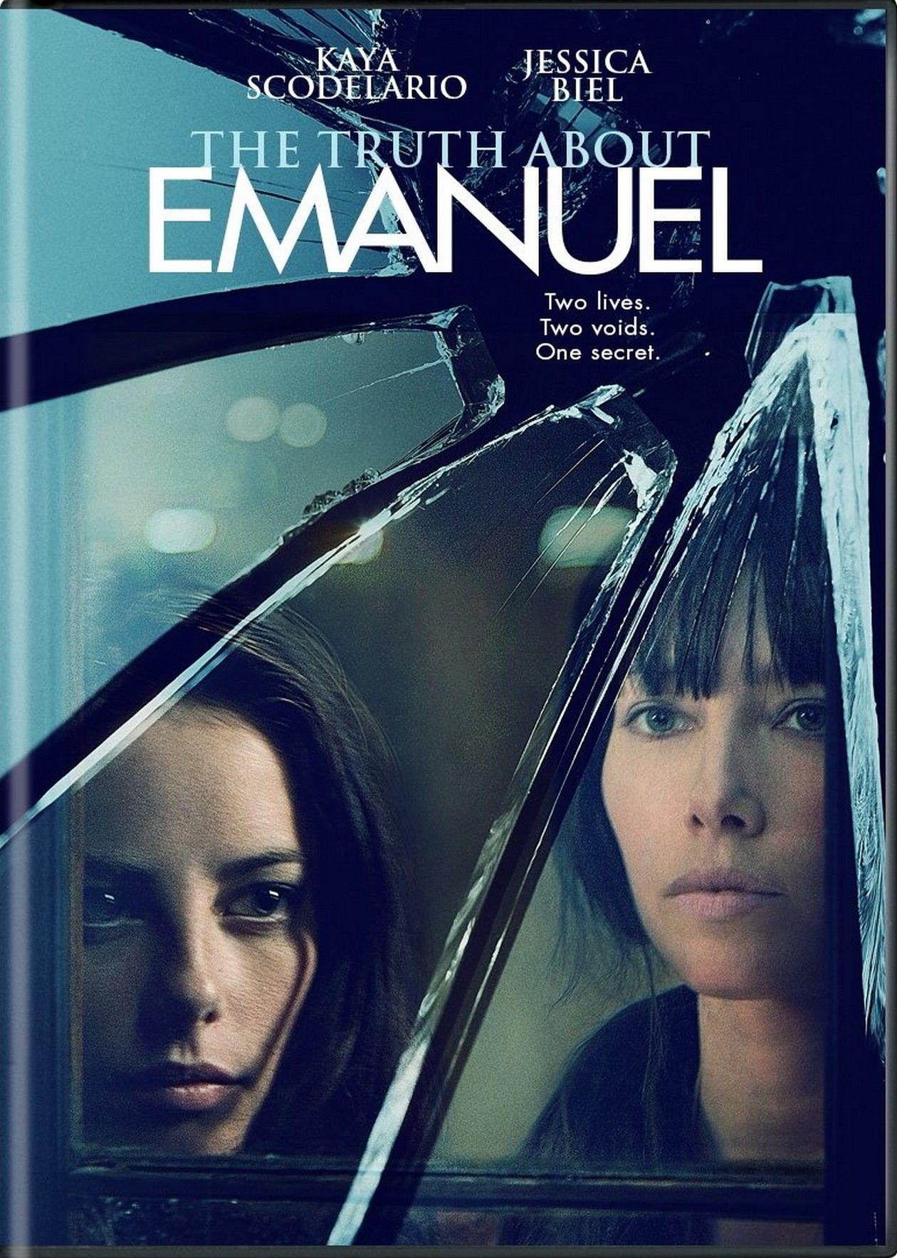 Kaya Scodelario / Jessica Biel actresses | The Truth About Emanuel / Francesca Gregorini 2013 Movie Poster Affiche film