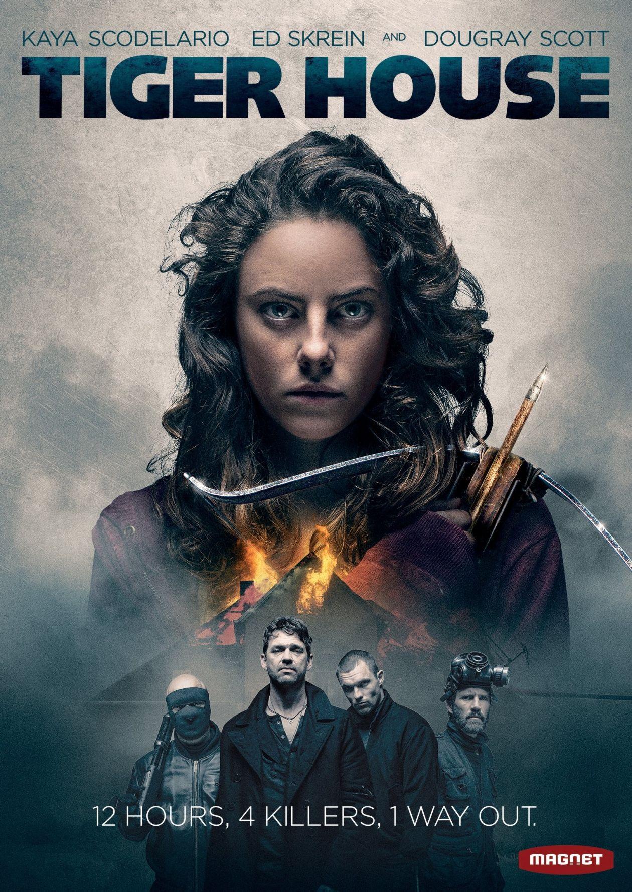 Kaya Scodelario actress   Tiger House / Thomas Daley 2015 Movie Poster Affiche film