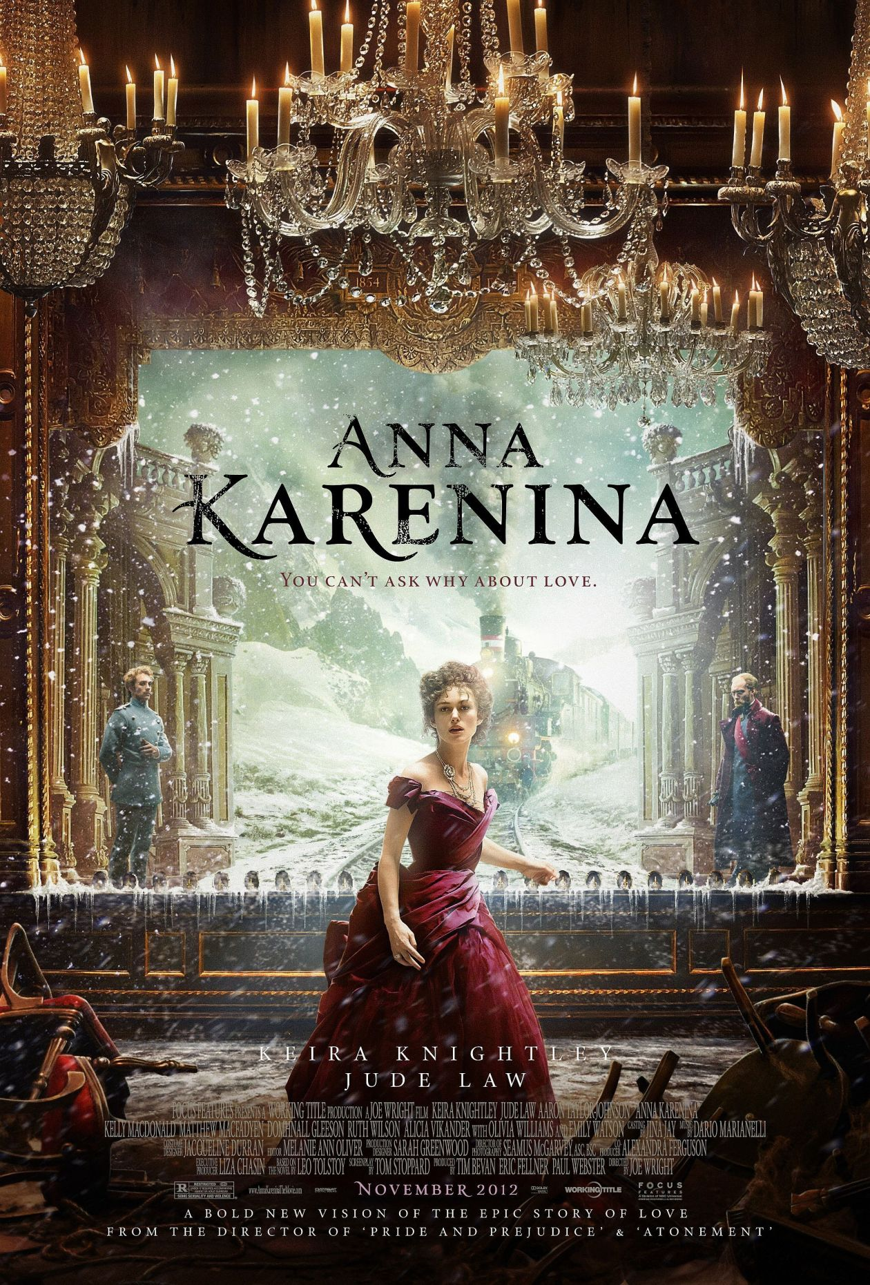 Keira Knightley actress | Anna Karenina / Joe Wright 2012 Movie Poster Affiche film