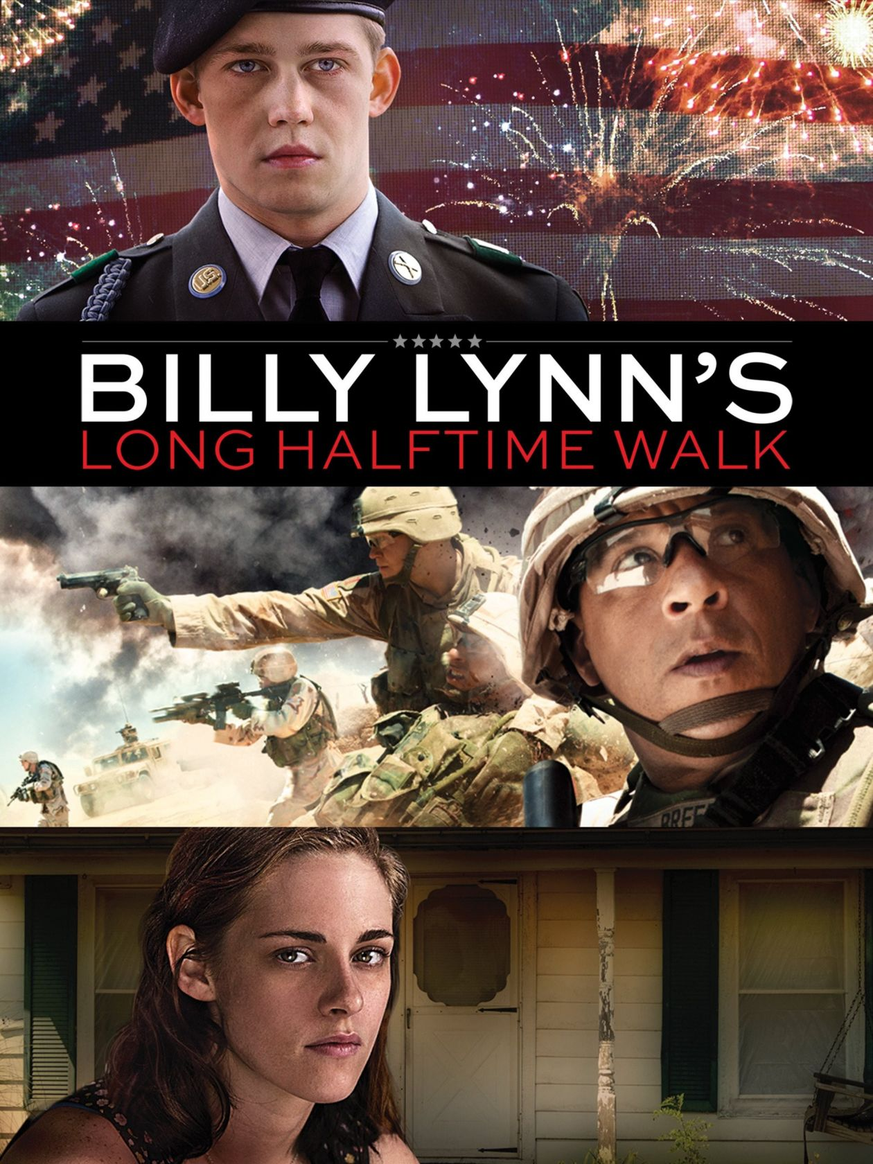 Kristen Stewart actress | Billy Lynn's Long Halftime Walk / Un jour dans la vie de Billy Lynn / Ang Lee 2016 Movie Poster Affiche film