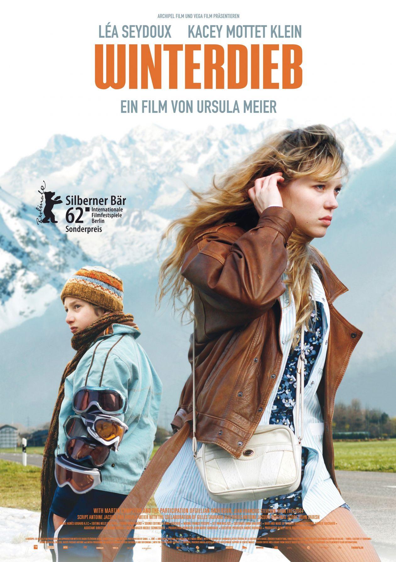 Léa Seydoux actress actrice comédienne | L'Enfant d'en haut / Winterdieb / Ursula Meier 2012 Movie Poster Affiche film