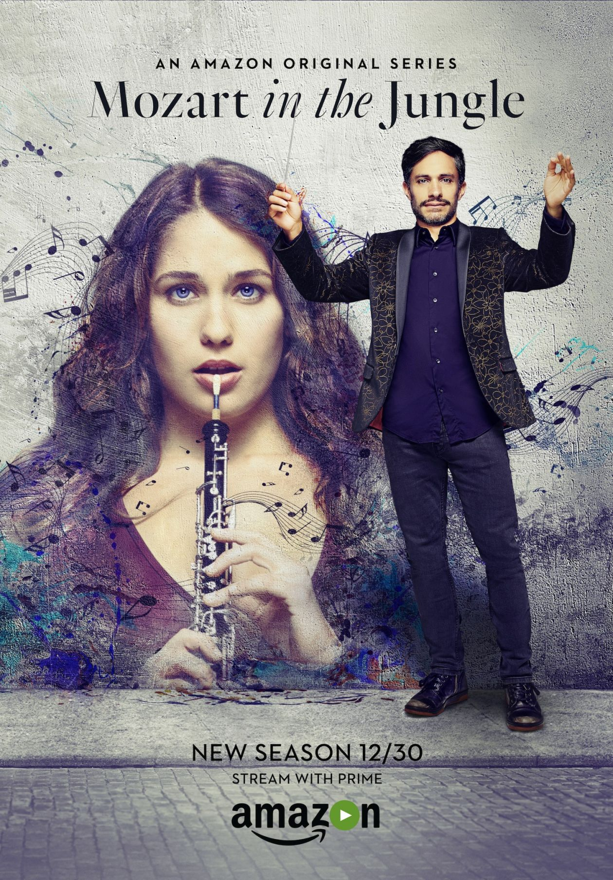 Lola Kirke actress | Mozart in the Jungle / Amazon Series Poster Season 2