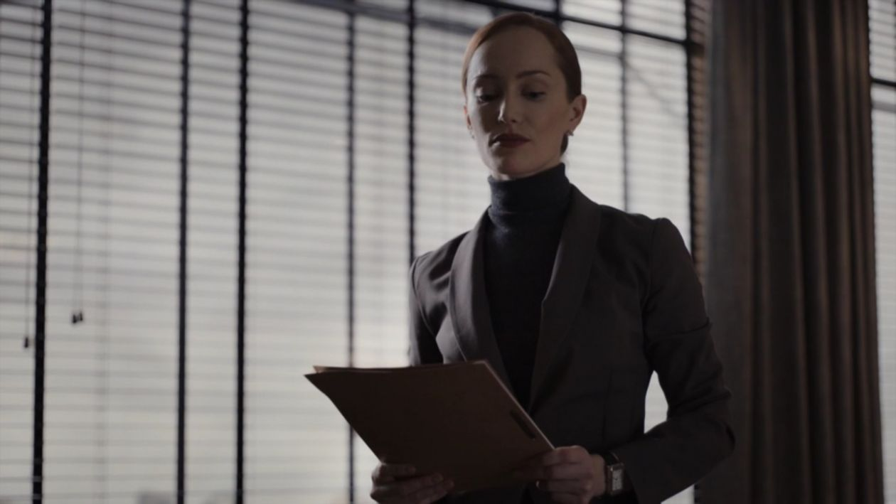 Lotte Verbeek actress | Counterpart | STARZ 2018