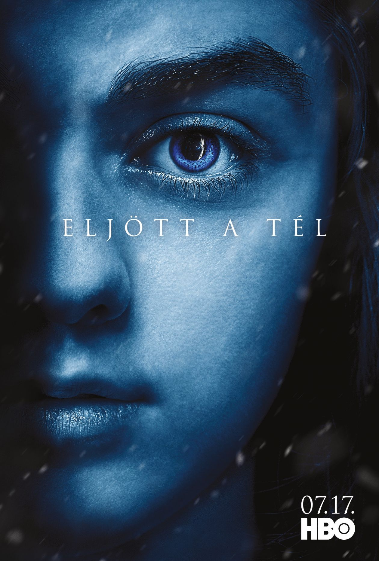 Maisie Williams actress : Arya Stark  Game of Thrones : Series Poster Season 7 2017