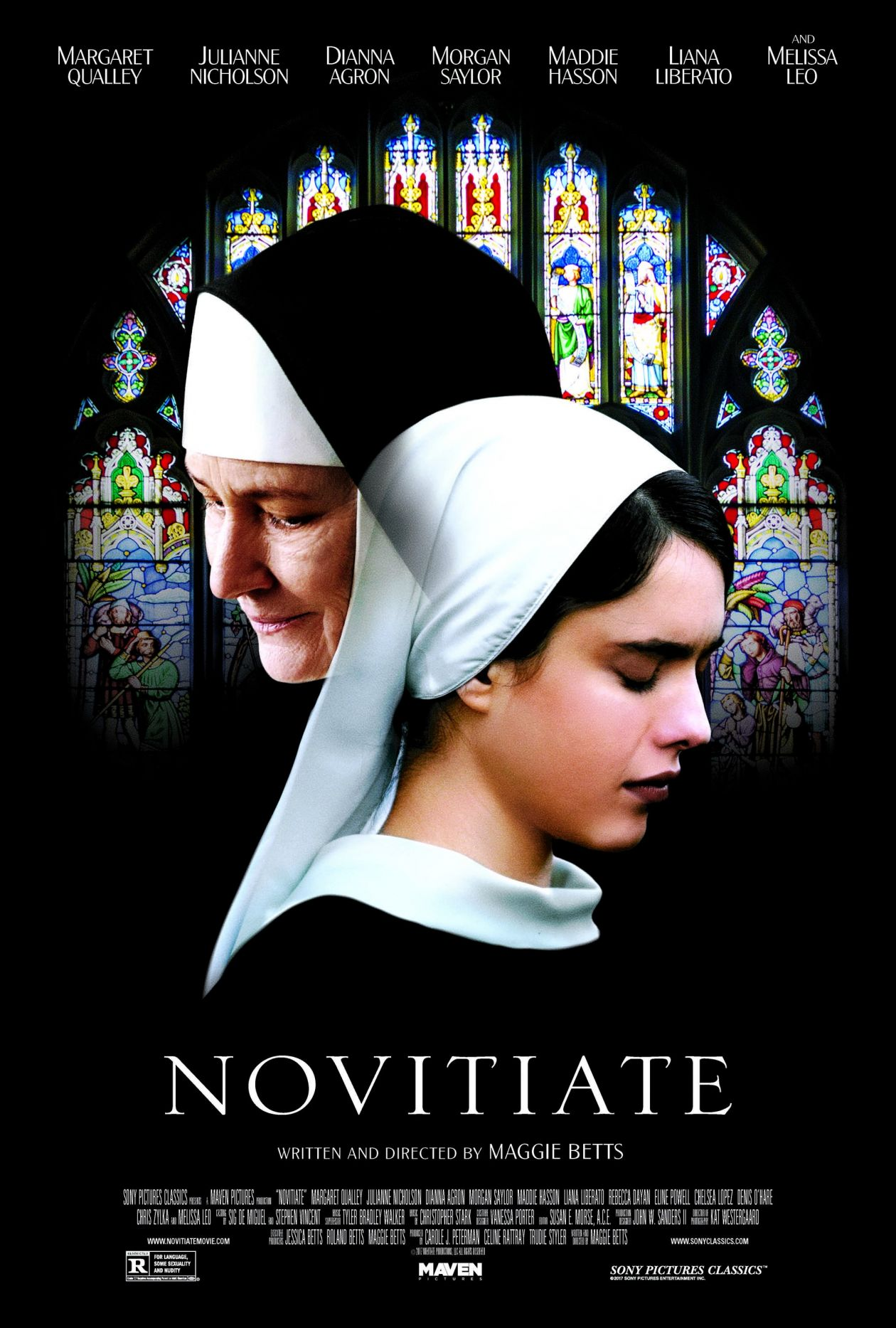 Margaret Qualley | Novitiate / Margaret Betts 2017 Movie Poster / Affiche film