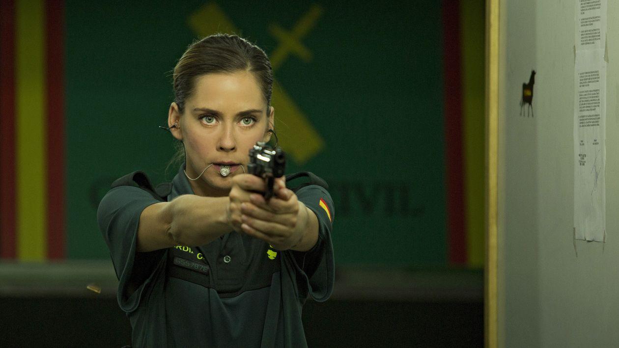 María León actress | Cuerpo de Élite / Lola | Joaquín Mazón 2016