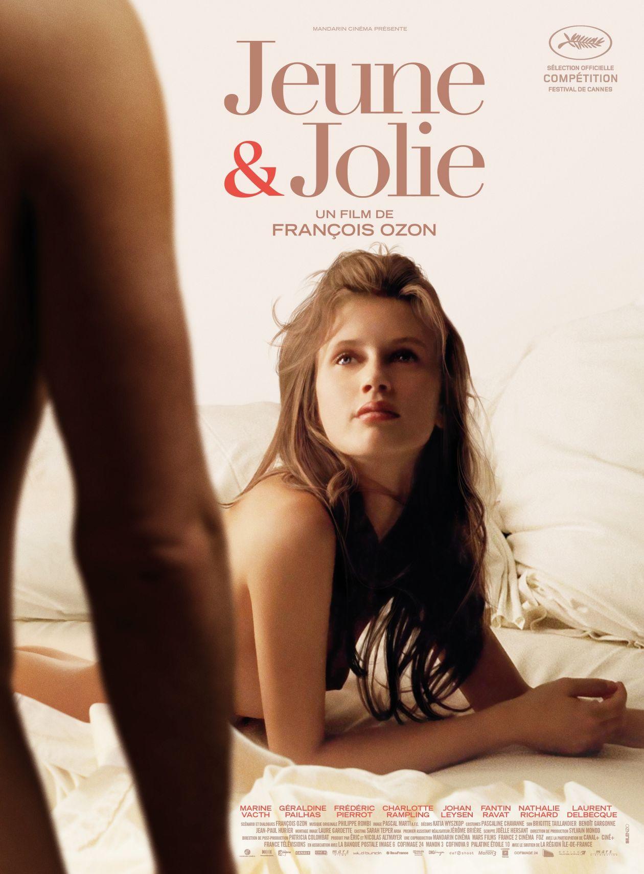 Marine Vacth actress actrice comédienne | Jeune et Jolie / François OZON 2013 Movie Poster Affiche film
