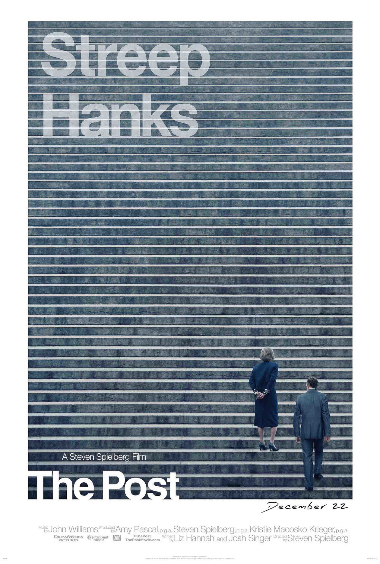 Meryl Streep actress | The Post / Steven Spielberg 2017 Movie Poster Affiche film