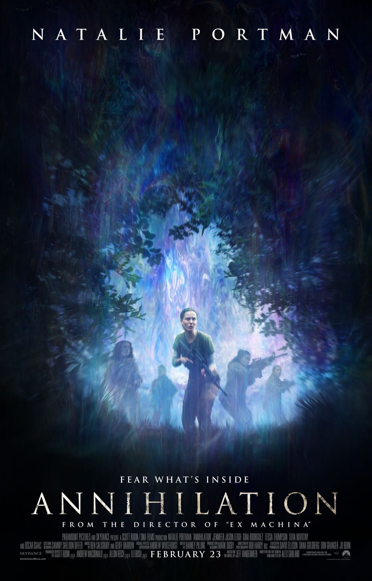 Natalie Portman / Annihilation / Alex Garland 2018 / Movie Poster / Affiche film