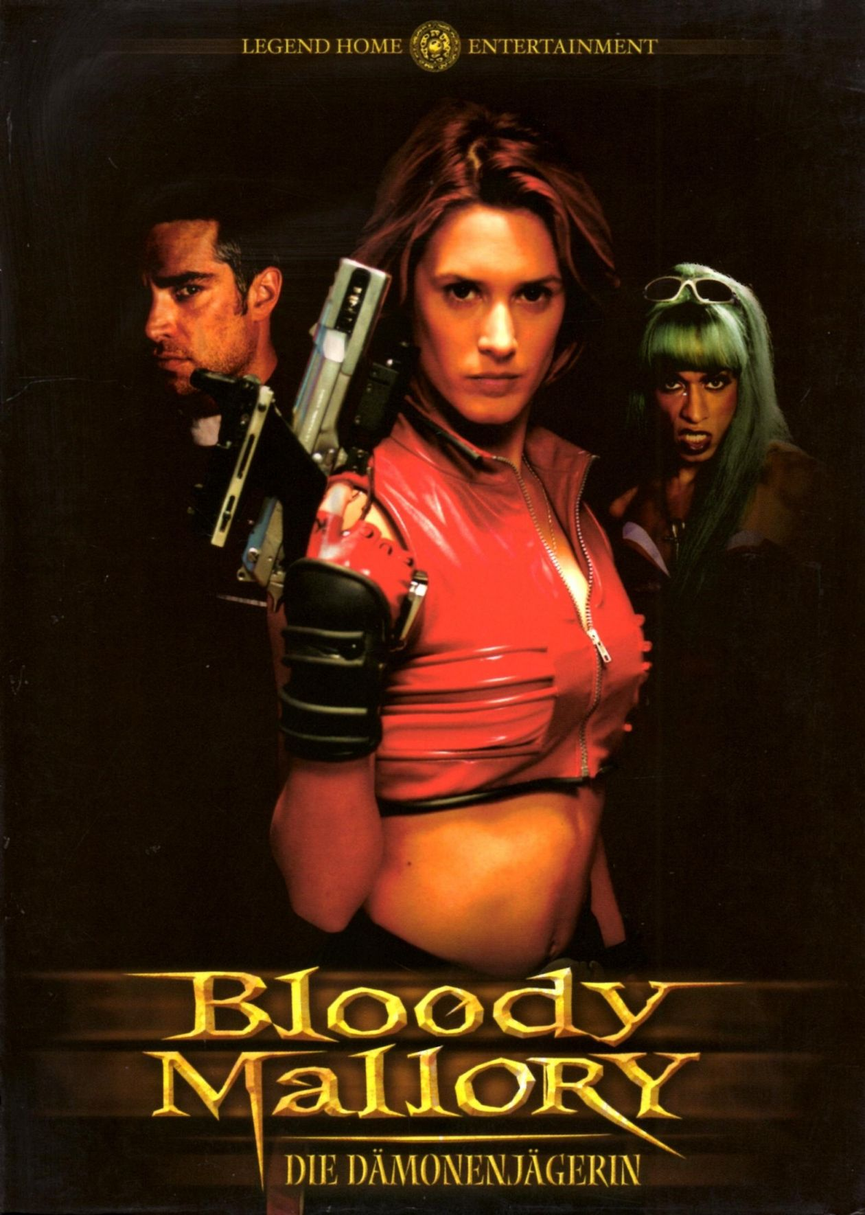 Olivia Bonamy French actress actrice comédienne | Bloody Mallory / Julien Magnat 2002 Movie Poster Affiche film