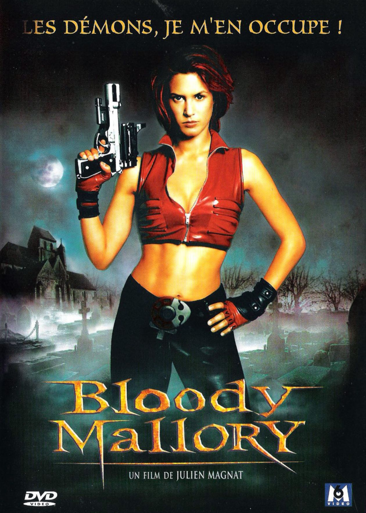 Olivia Bonamy French actress actrice comédienne | Bloody Mallory / Julien Magnat 2002 Movie Poster Affiche film DVD Cover