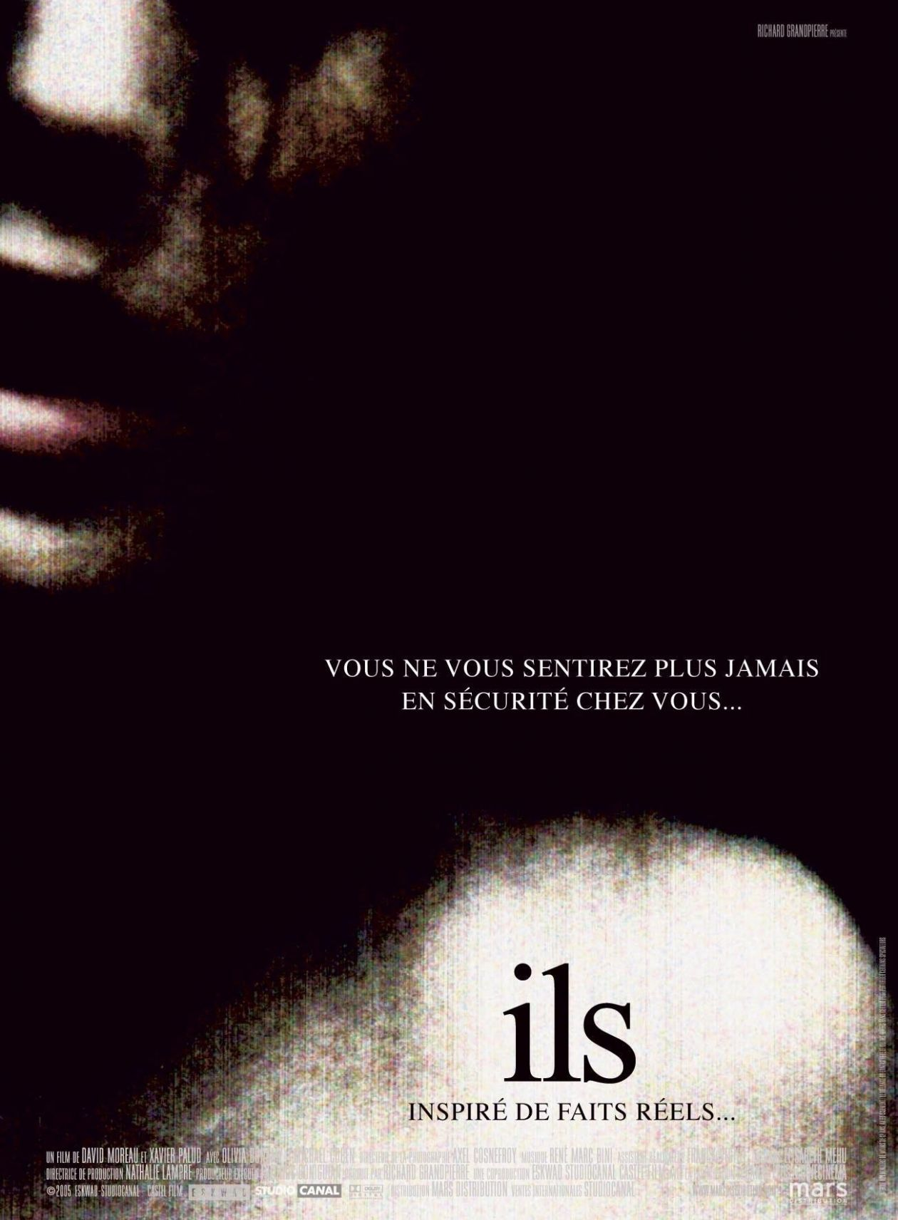 Olivia Bonamy French actress actrice comédienne | Ils / Them / David Moreau / Xavier Palud 2006 / Movie Poster Affiche film