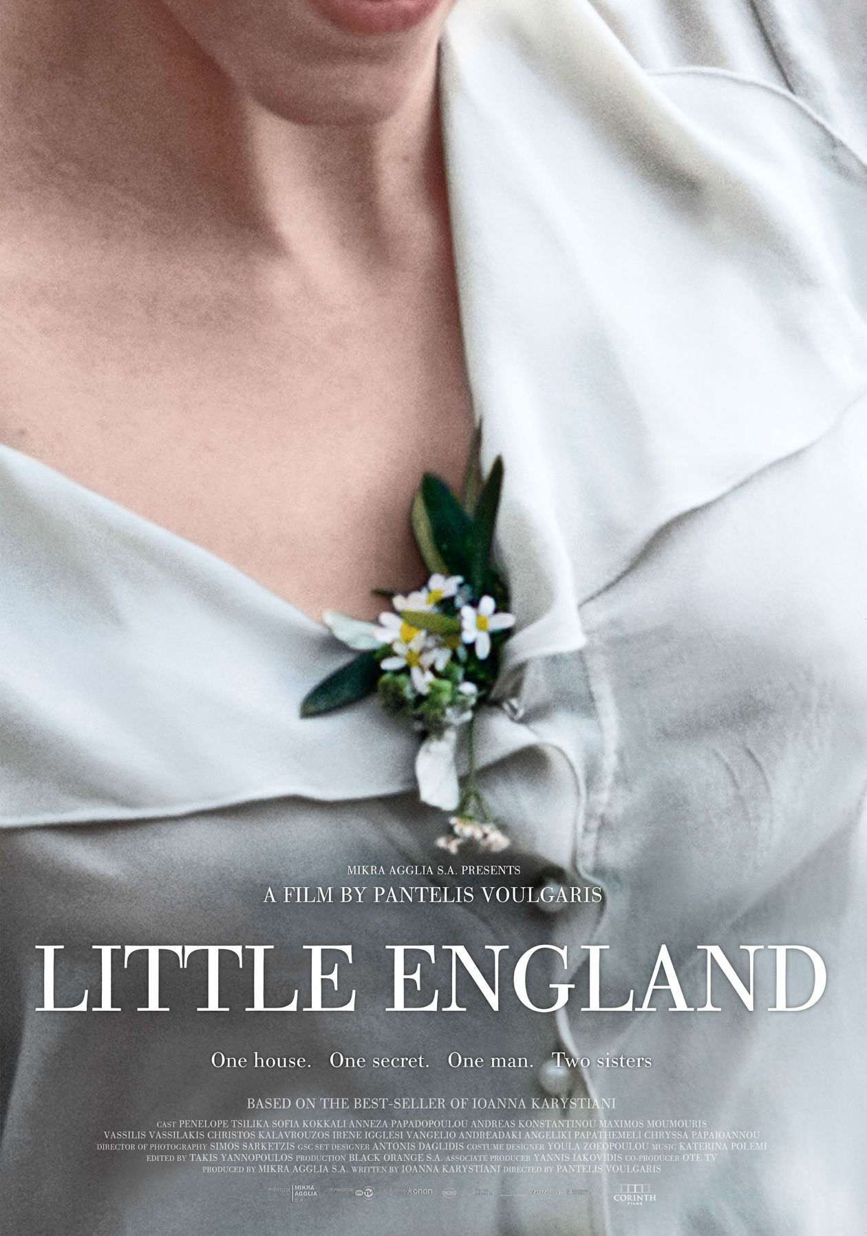 PENELOPE TSILIKA Greek Actress : Little England / Mikra Anglia / Orsa Saltaferou | Pantelis Voulgaris 2013 MOVIE POSTER / AFFICHE FILM