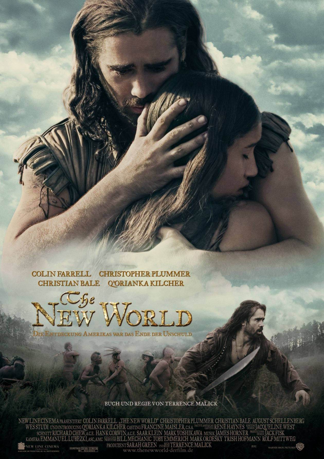 Q'orianka Kilcher | The New World / Terrence Malick 2005 / Movie Poster / Affiche du film
