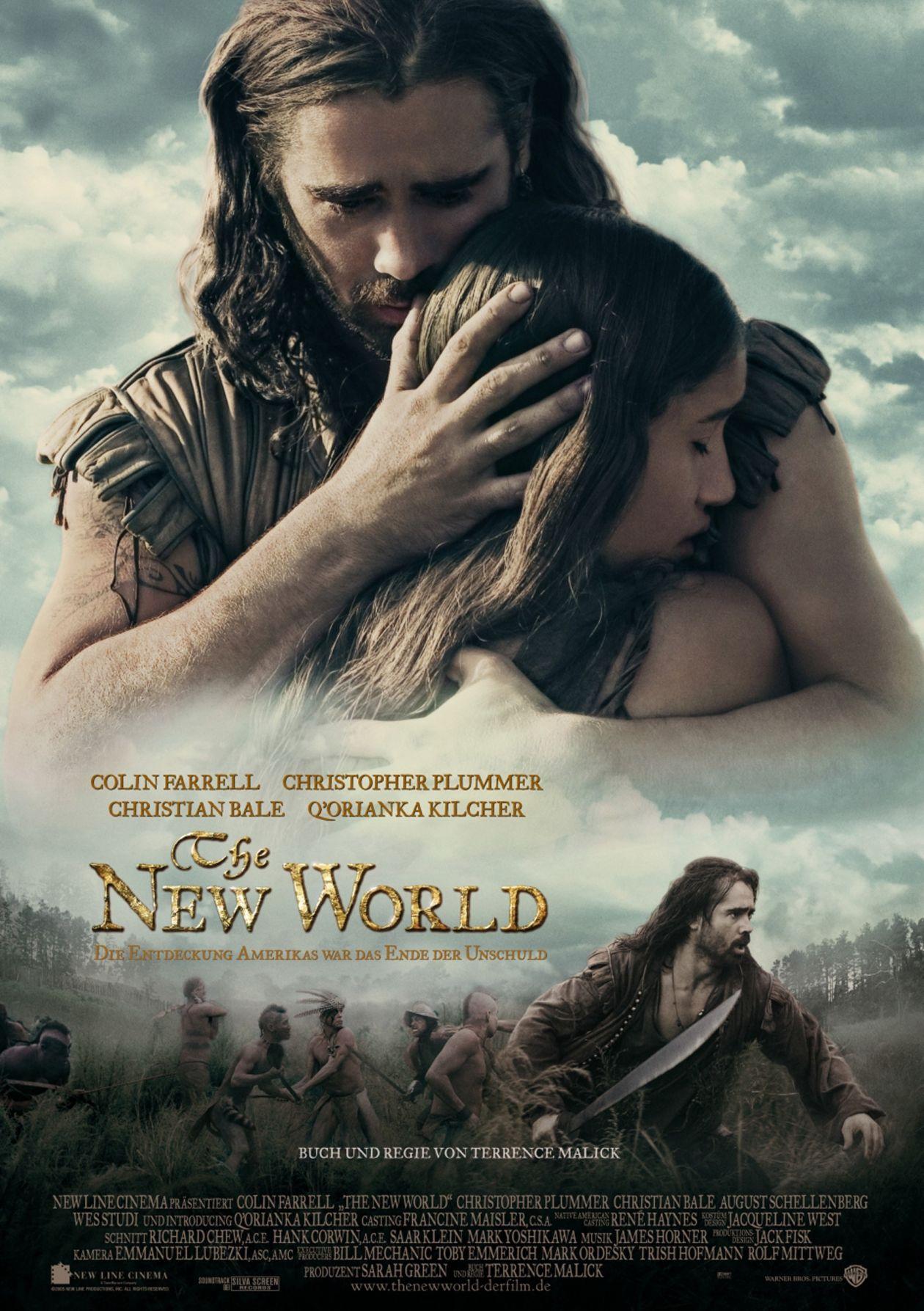 Q'orianka Kilcher | The New World / Terrence Malick 2005 / Movie Poster / Affiche du film