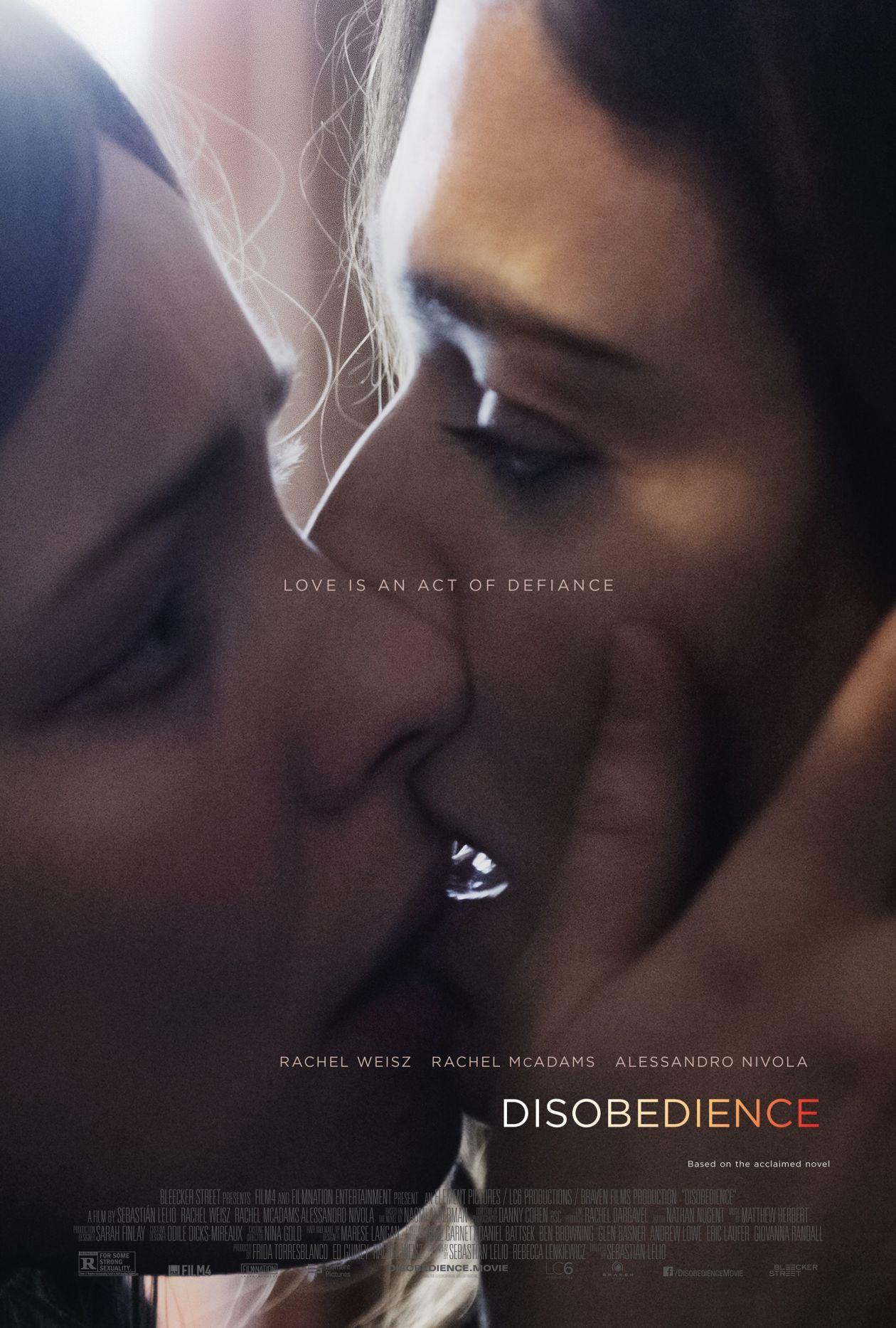 Rachel Weisz / Rachel McAdams | Disobedience / Désobéissance Movie Poster / Affiche film