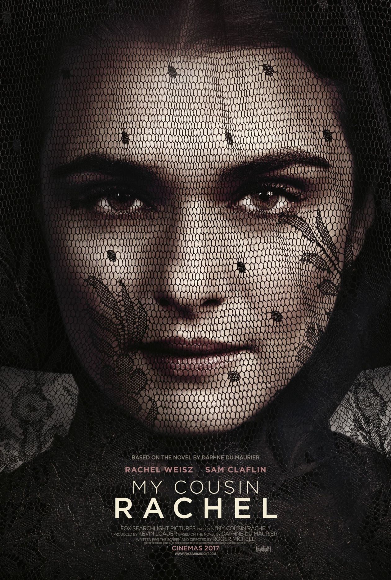 Rachel Weisz | My Cousin Rachel / Roger Michell / Movie Poster / Affiche film 2017