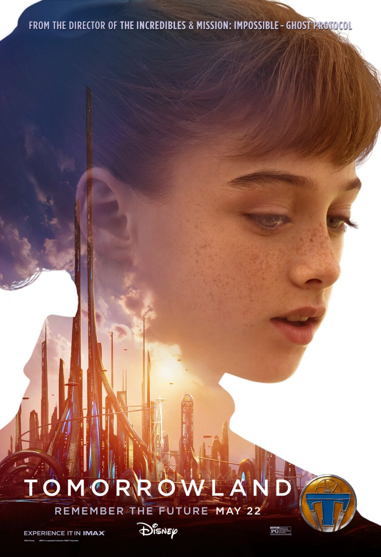 Tomorrowland | Brad Bird 2015   Raffey Cassidy : Athena