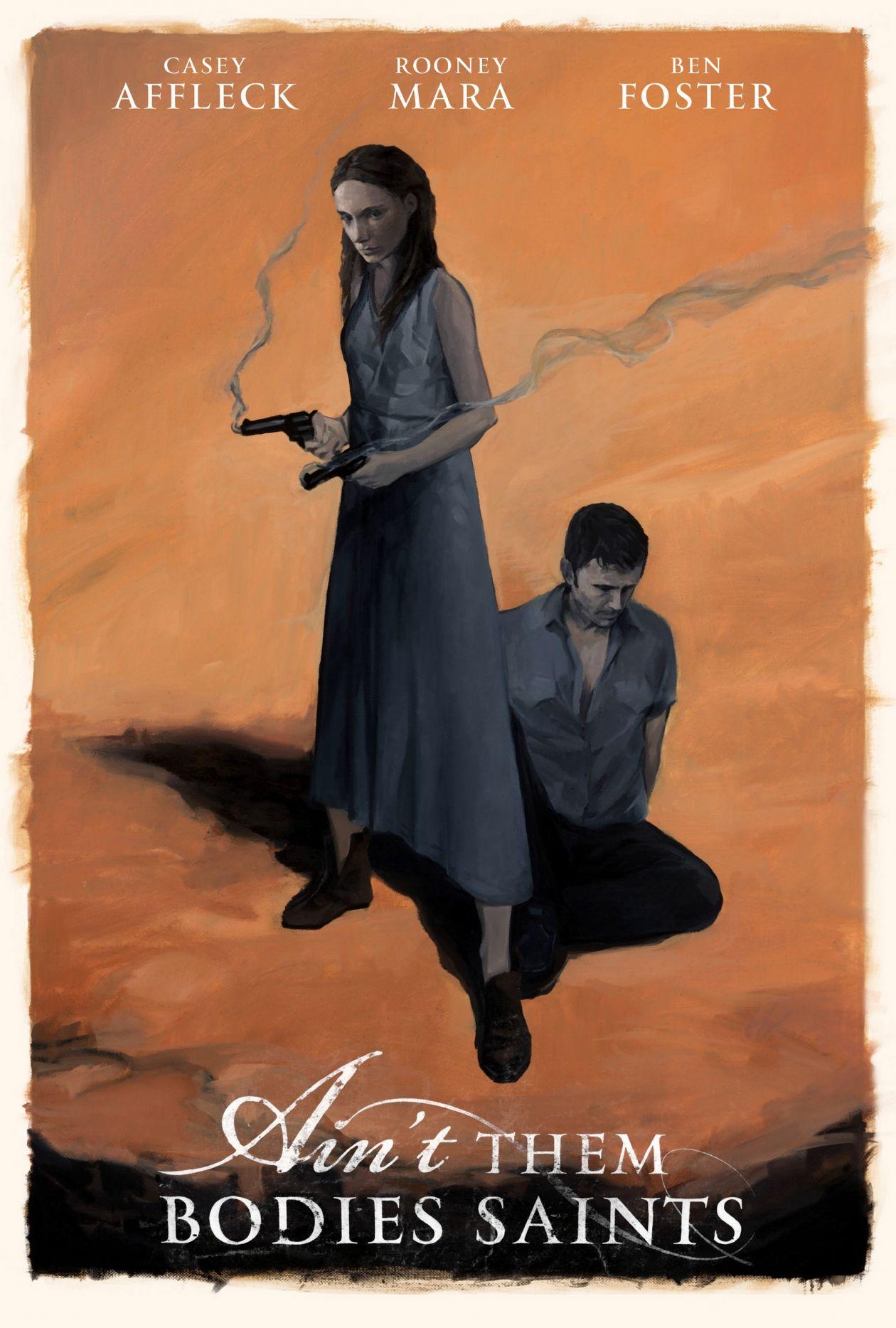 Ain't Them Bodies Saints / Les Amants du Texas   David Lowery 2013 Movie Poster / Rooney MARA