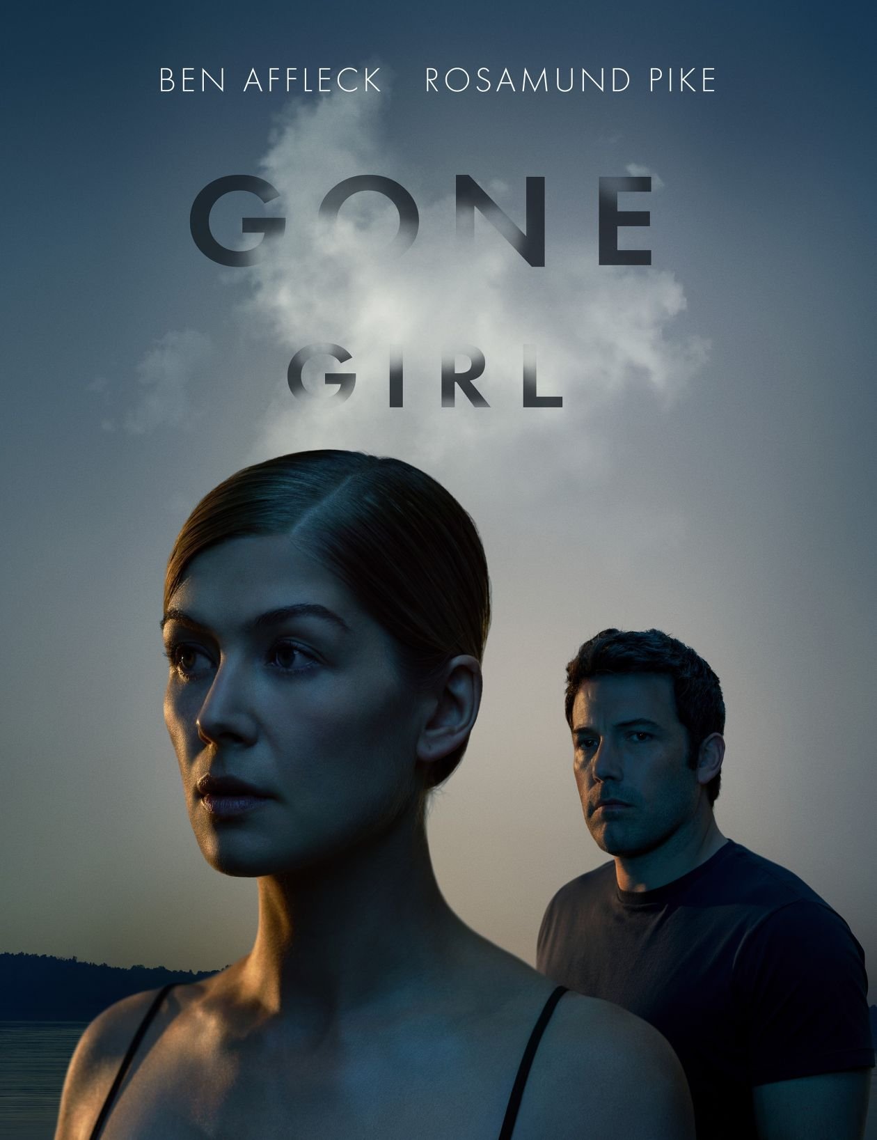 Rosamund Pike actress / Amy Elliott Dunne | Gone Girl / David Fincher 2014 Movie Poster Affiche film