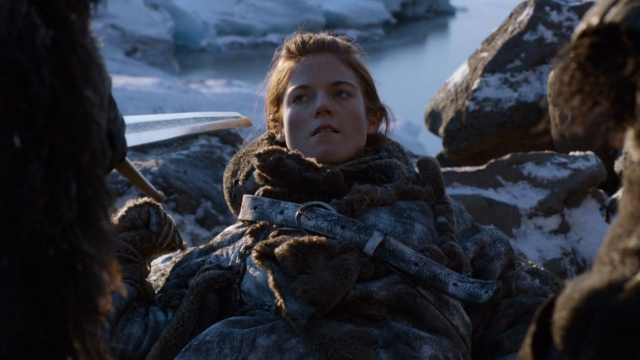 Rose Leslie actress / Game of Thrones / Ygritte / 2012 Season 2